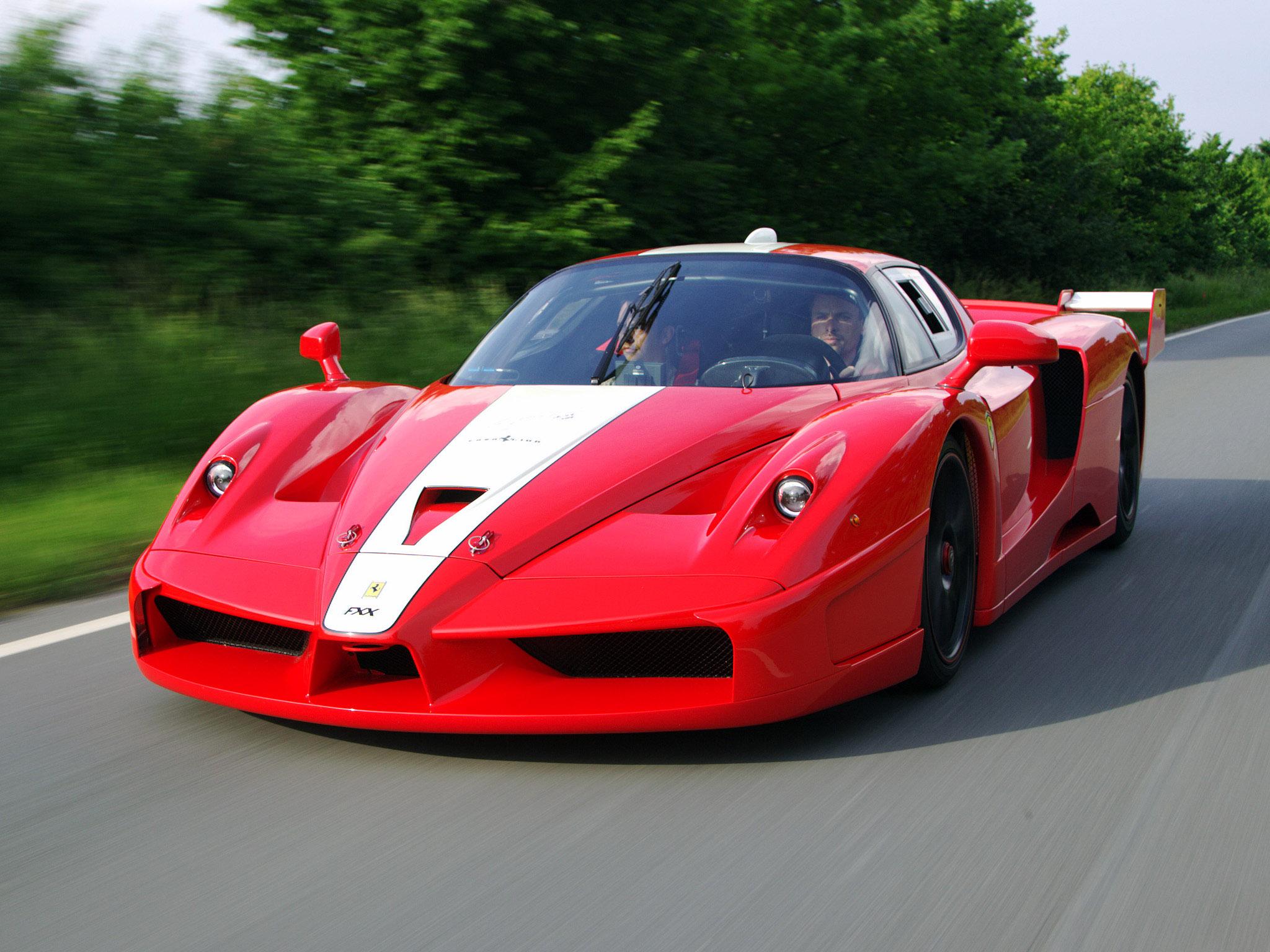 Fond d 39 cran v hicule voiture de sport enzo ferrari - Photo voiture de course ferrari ...