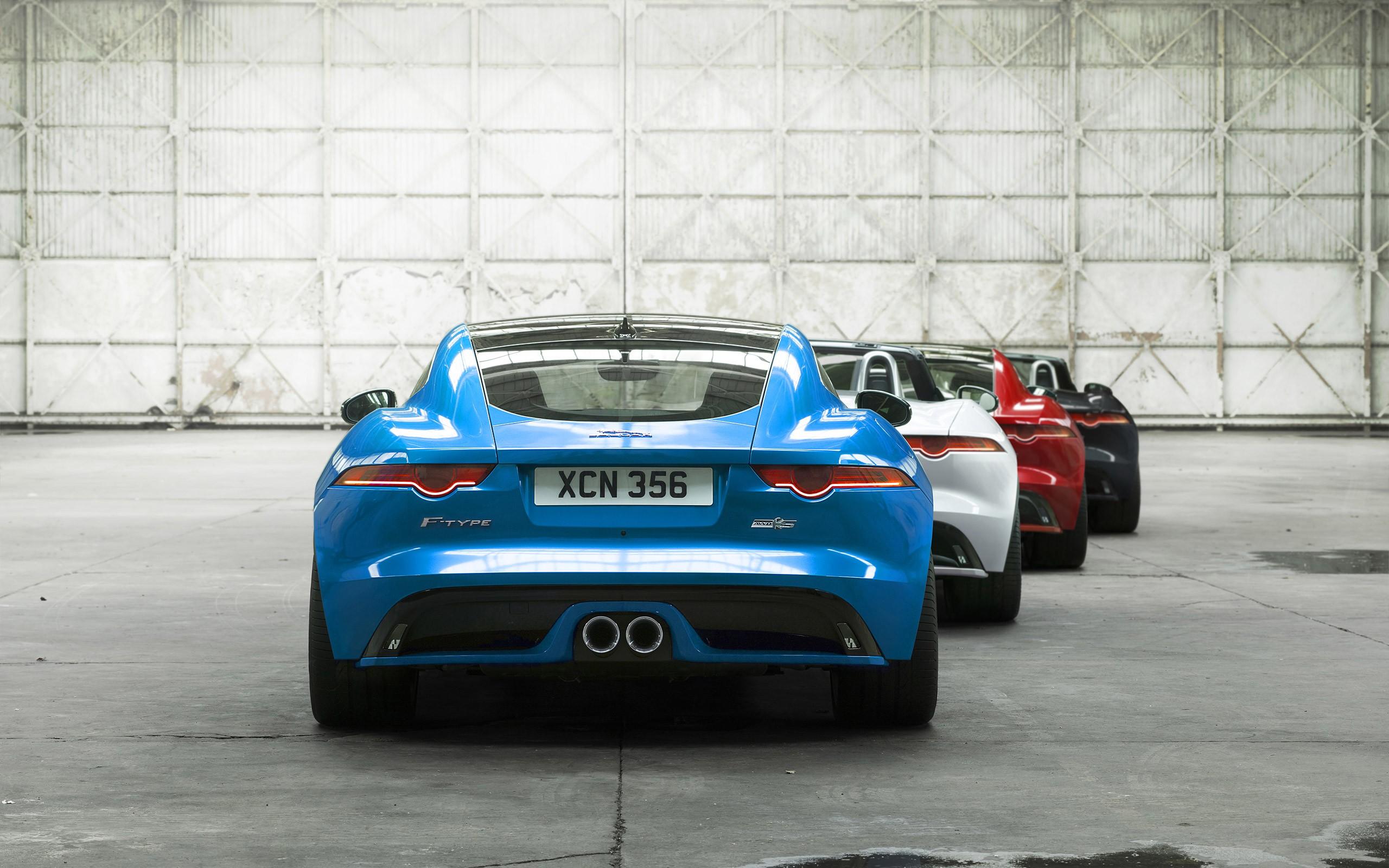Wallpaper : sports car, Jaguar F Type, supercar, land ...