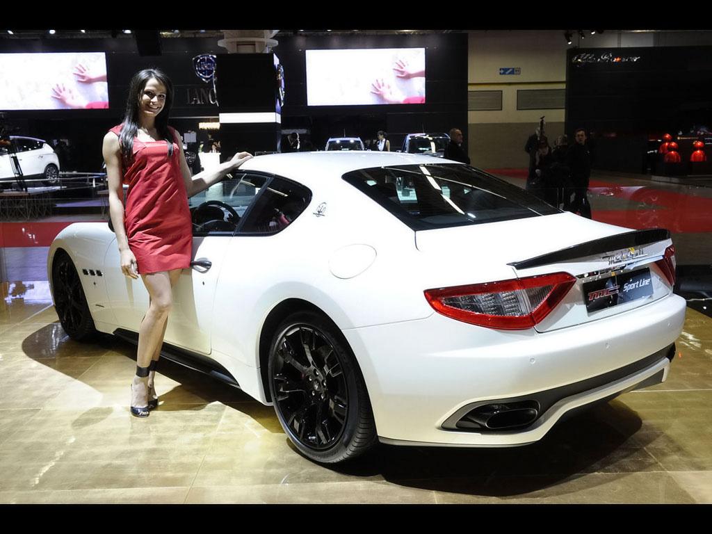 Wallpaper Sports Car Coupe Performance Car Maserati Granturismo