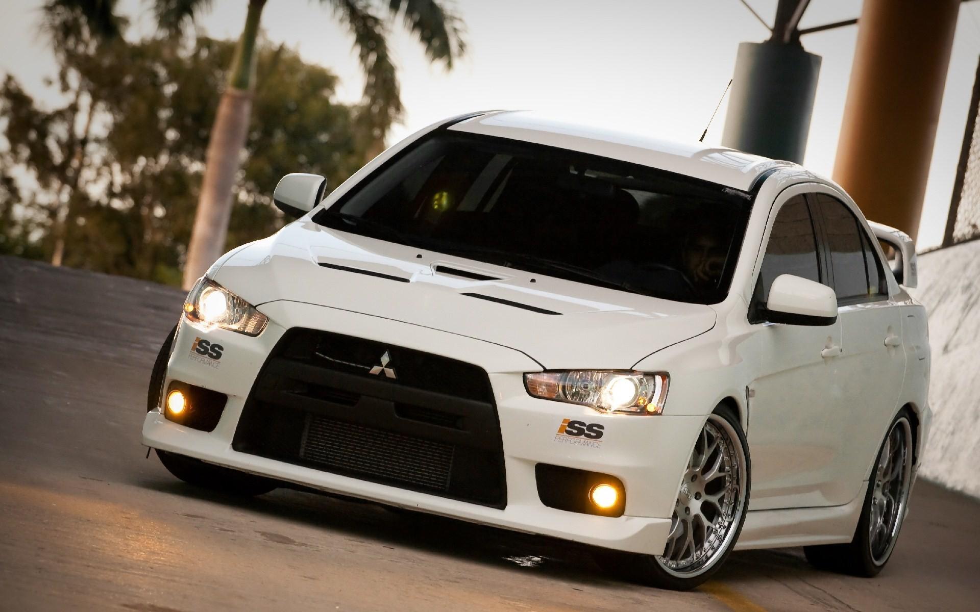 wallpaper : sports car, mitsubishi lancer, mitsubishi lancer evo