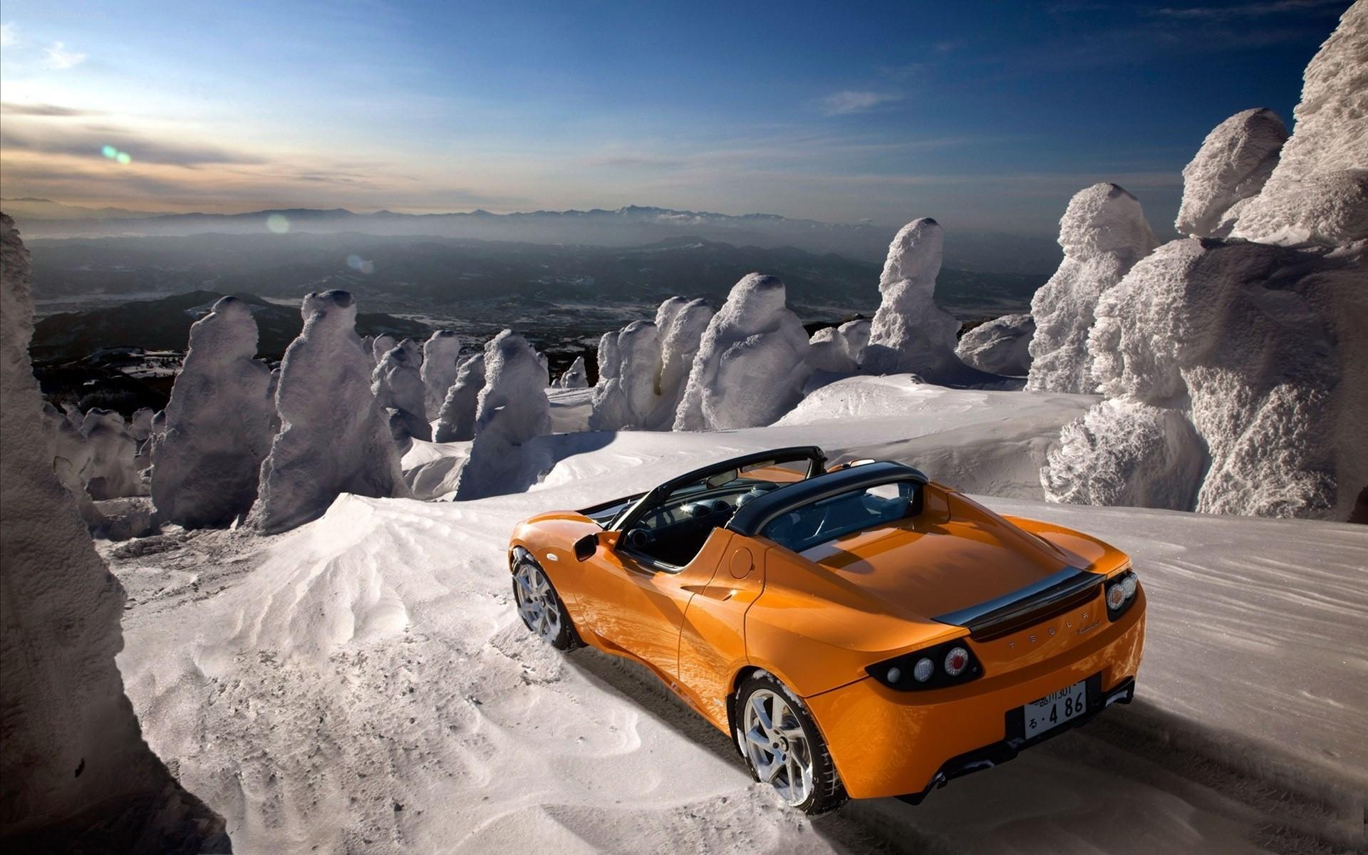 них фото обои авто в снегу поступления