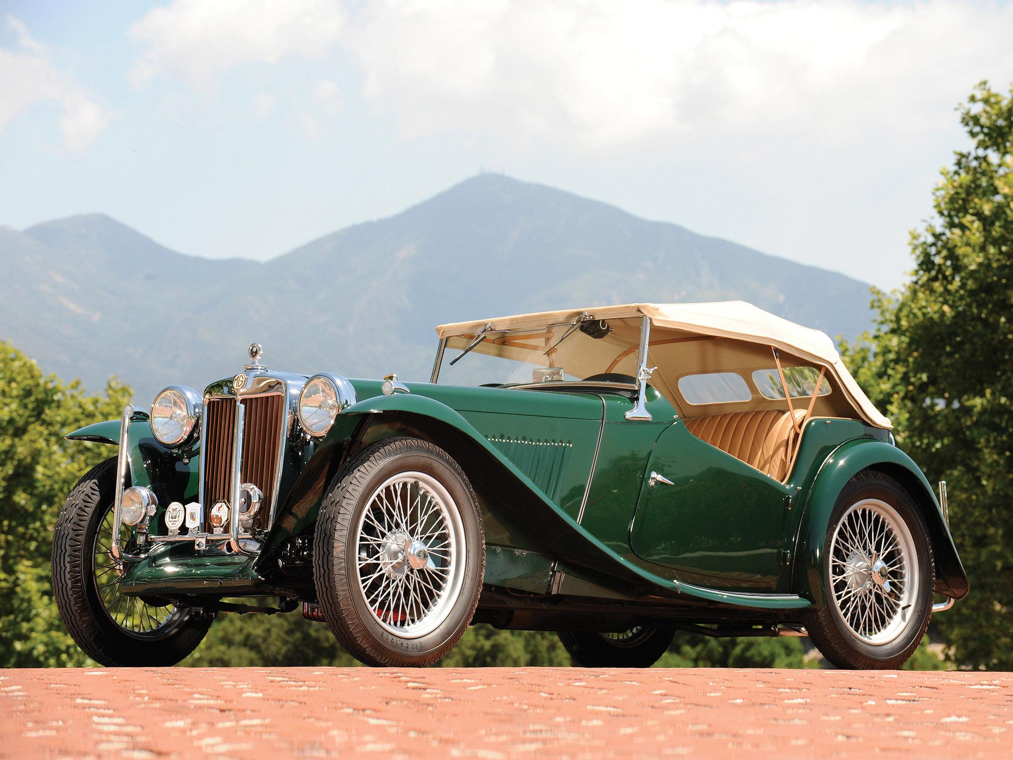 wallpaper : sports car, vintage car, convertible, mg, netcarshow
