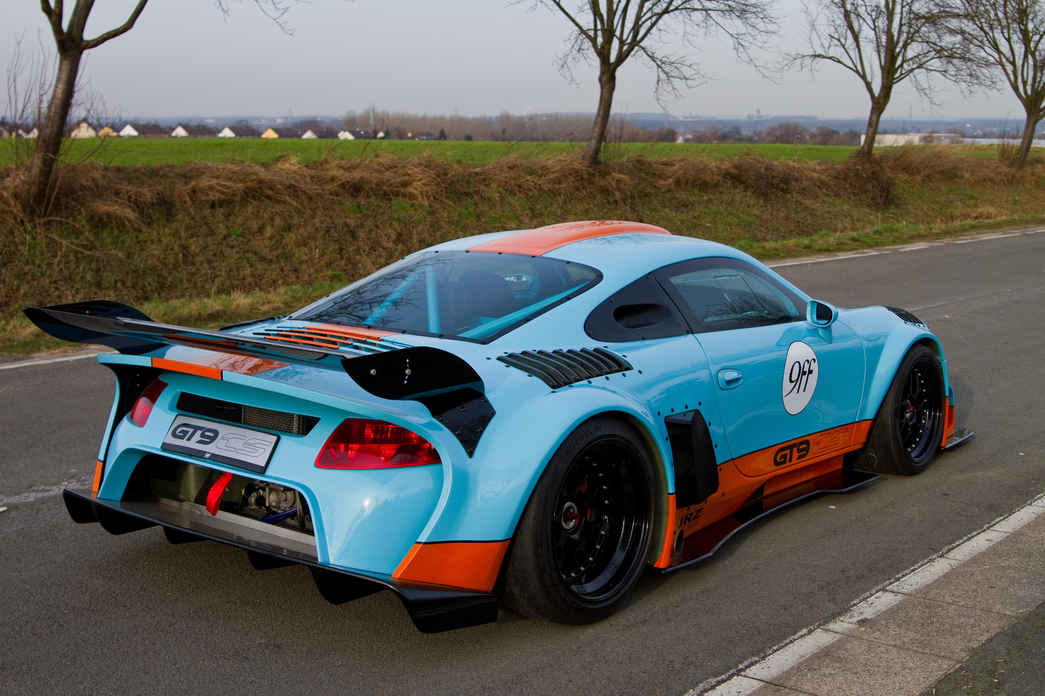 Wallpaper Sports Car Coupe Performance Car 2012 9ff Gt9 Cs