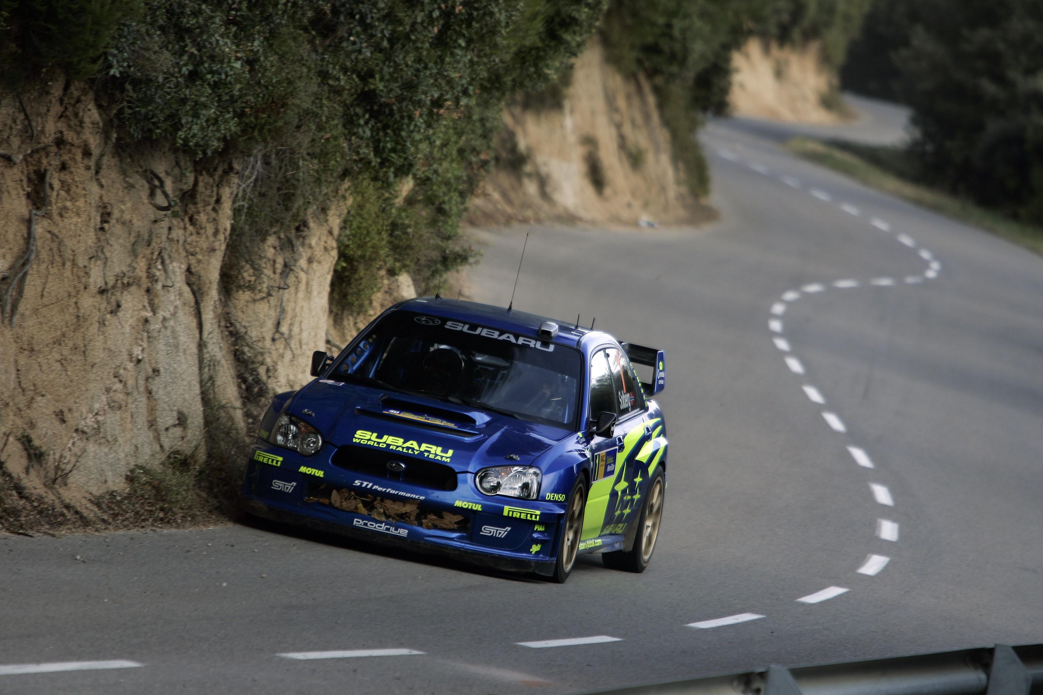 Wallpaper Sports Car Rally Cars Subaru Impreza Wrx Sti Asphalt