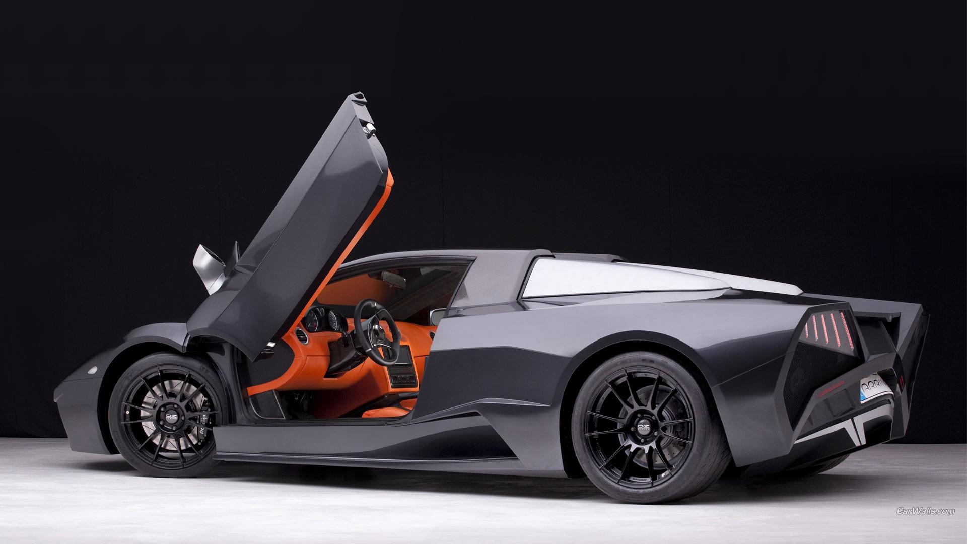 Wallpaper Supercars Lamborghini Aventador Sports Car