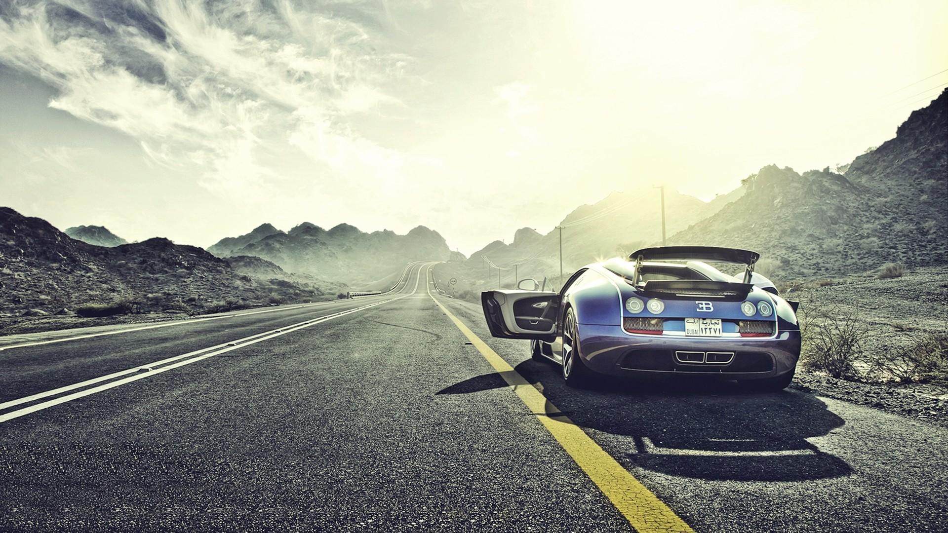Supercars Bugatti Veyron Super Sport