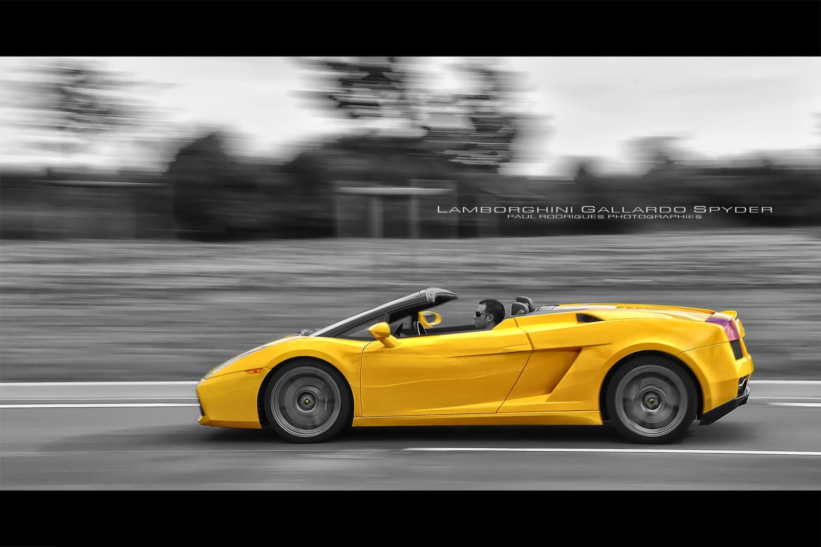 Wallpaper Supercars Yellow Nikon France Lamborghini Gallardo