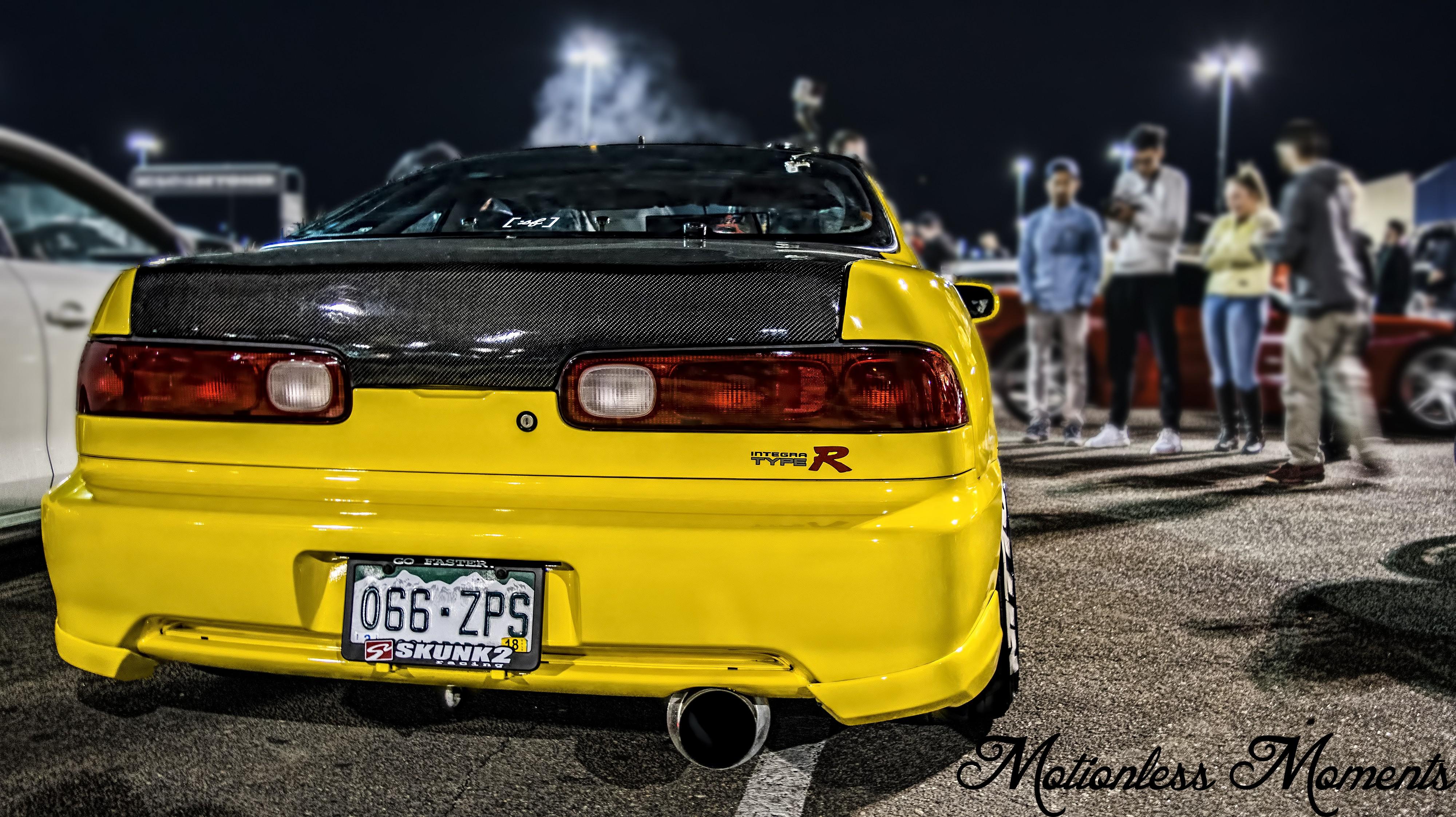 wallpaper : yellow, jdm, sports car, coupe, performance car, honda