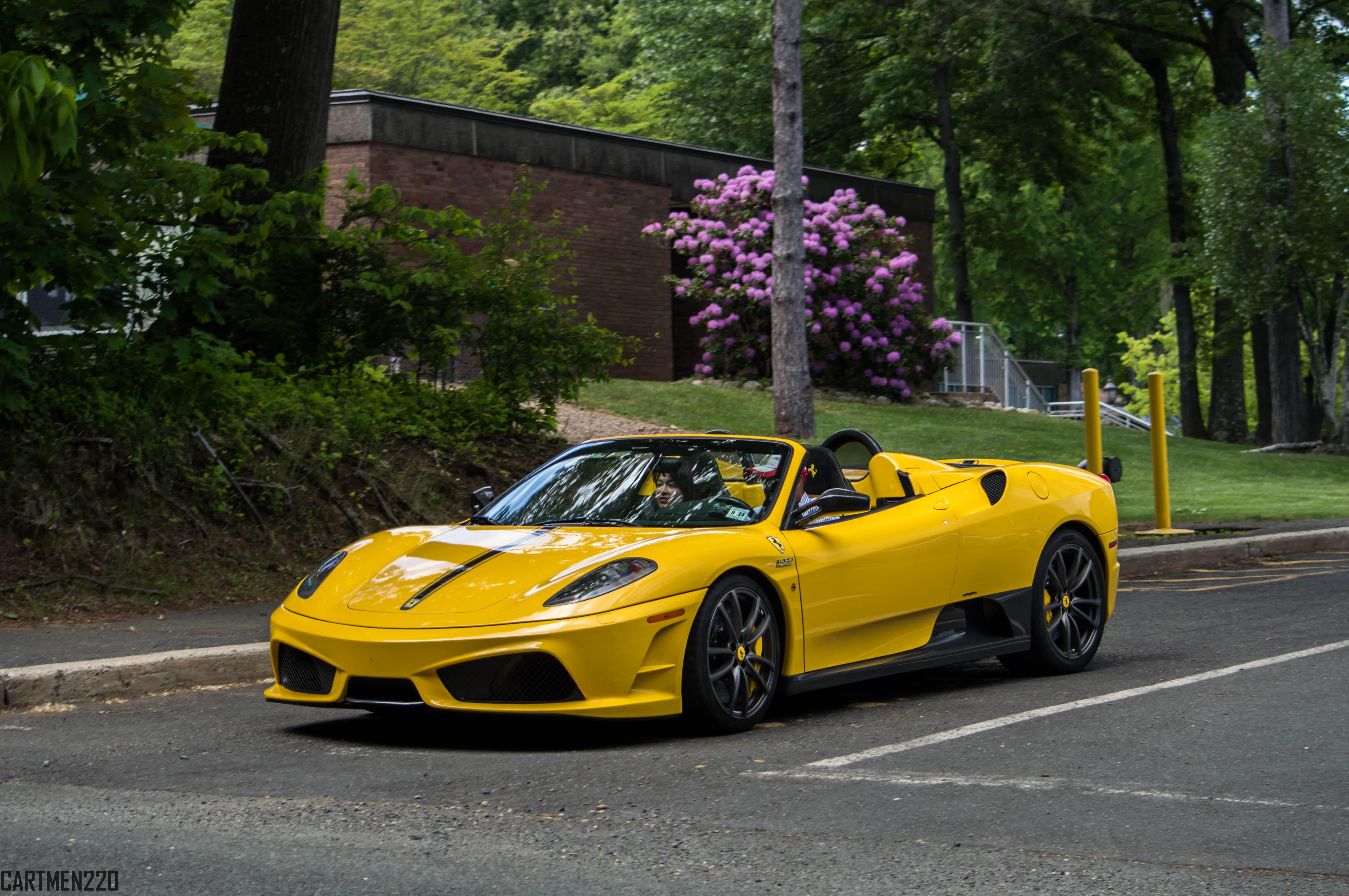 Wallpaper Yellow Lamborghini Fashion Sports Car Ferrari F430