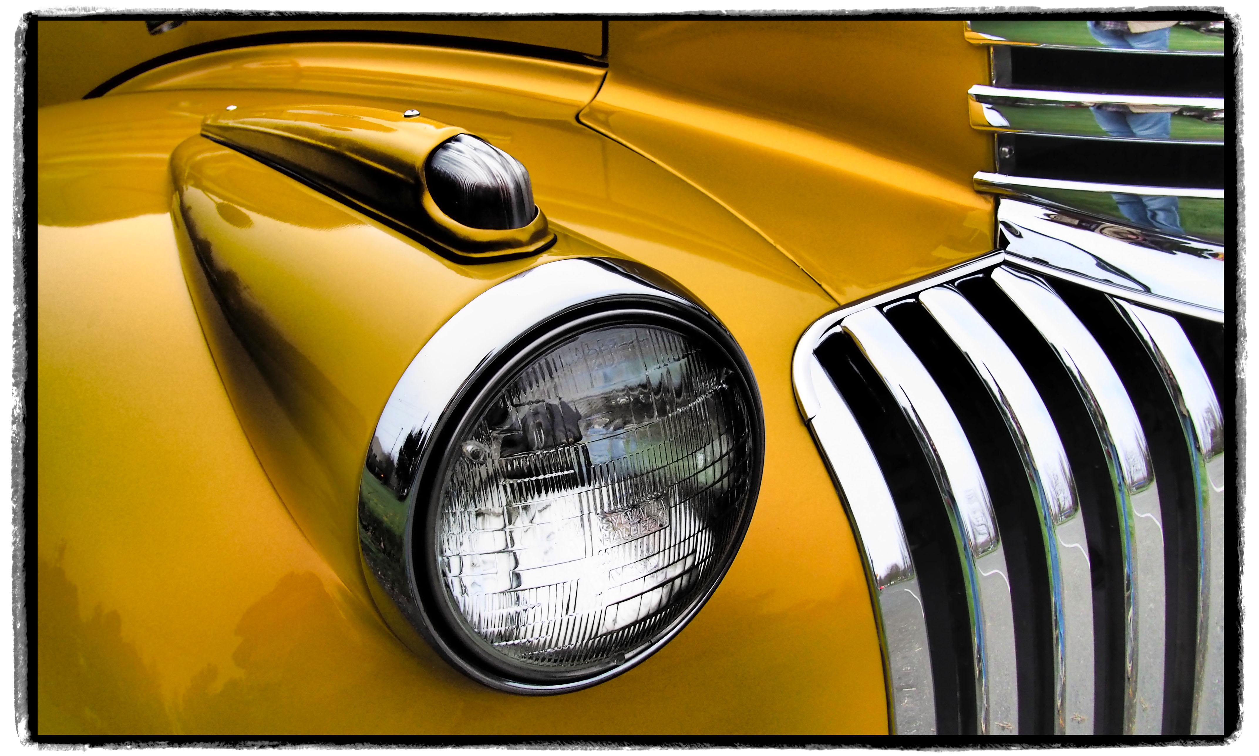 Fond D Ecran Jaune Voiture Ancienne Chevrolet Chevy Classique