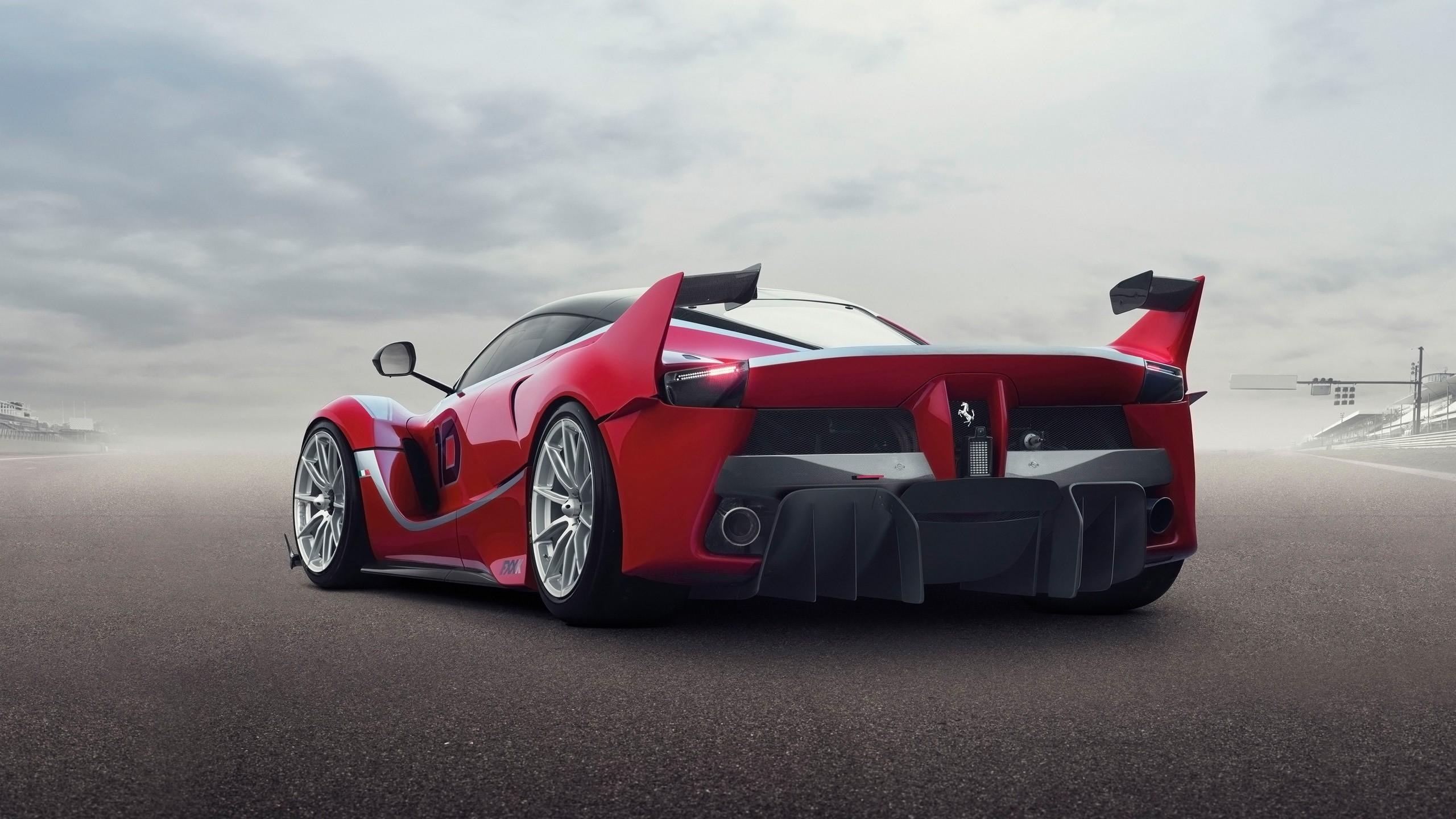 Delightful Car Wings Vehicle Rear View Sports Car Ferrari Performance Car Hypercar  Ferrari FXX K Supercar Land