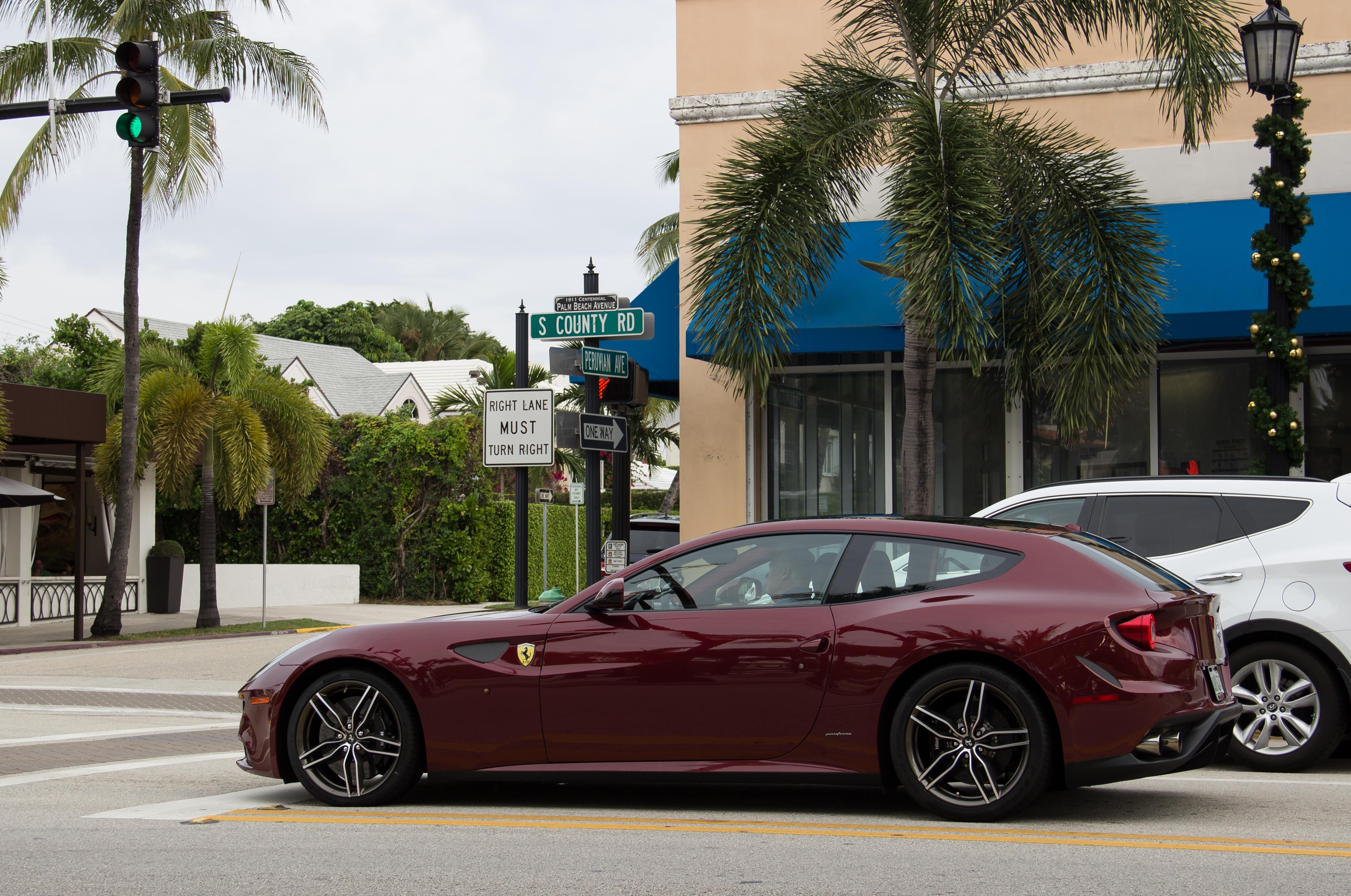 Baggrunde : biler, Ford, strand, bil, mercedes, Benz, martin, Lotus, Florida, syd, Ferrari ...