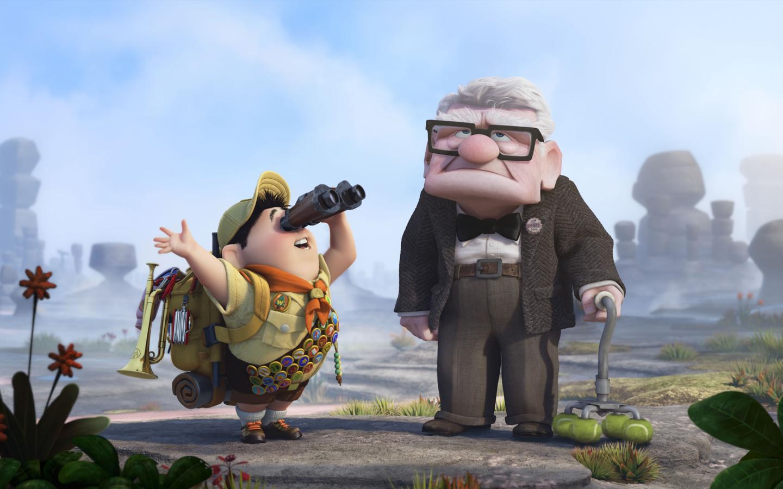 Sfondi cartone animato walt disney up film
