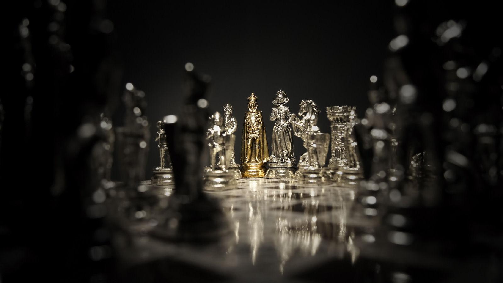 Chess Gamer King Queen