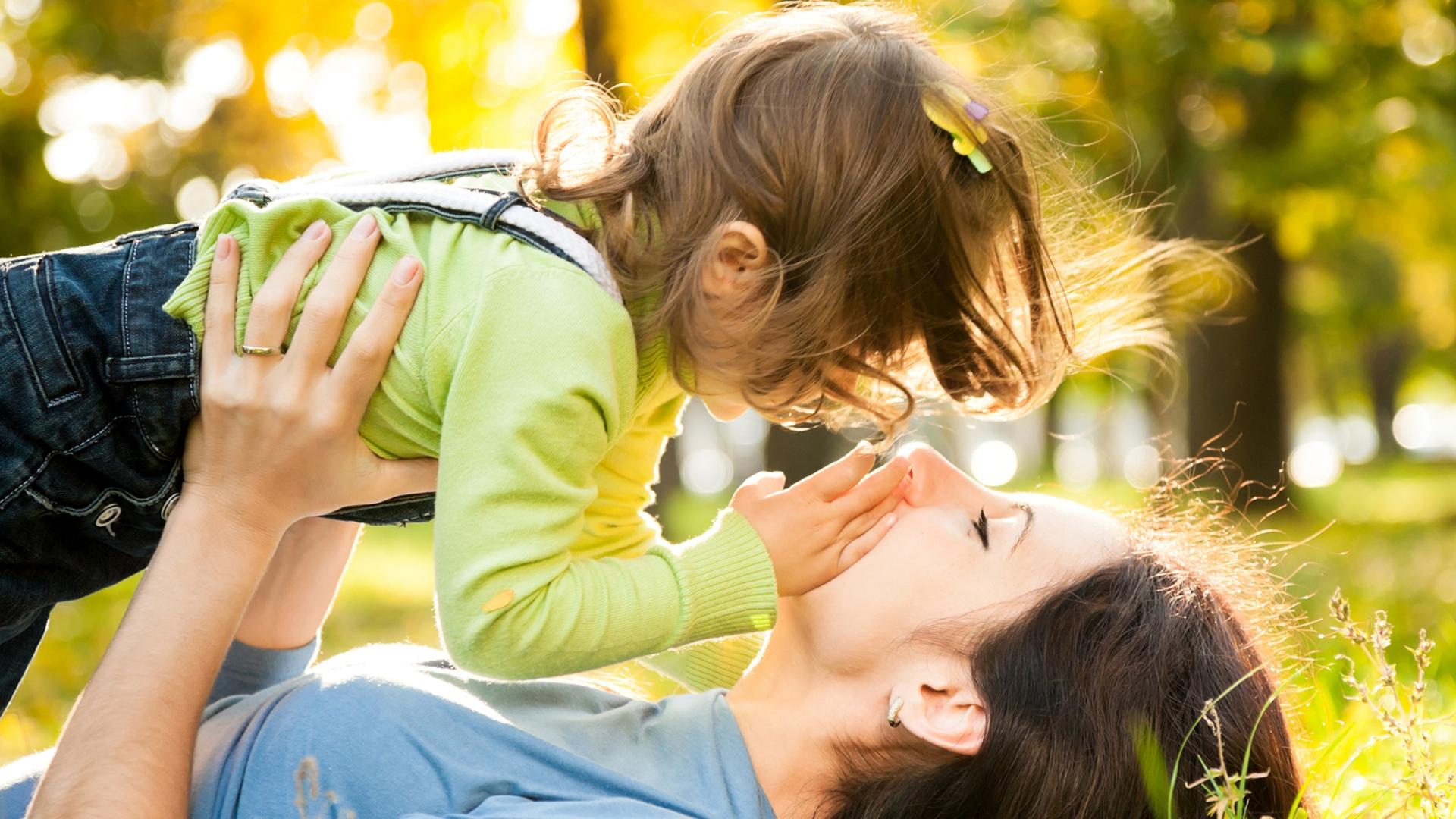 Child Girl Person Mother Motherhood