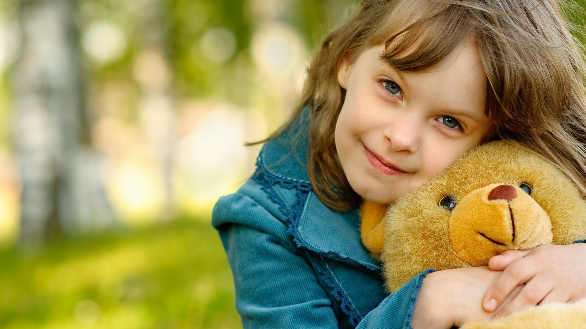 Child Girl Toy Smile