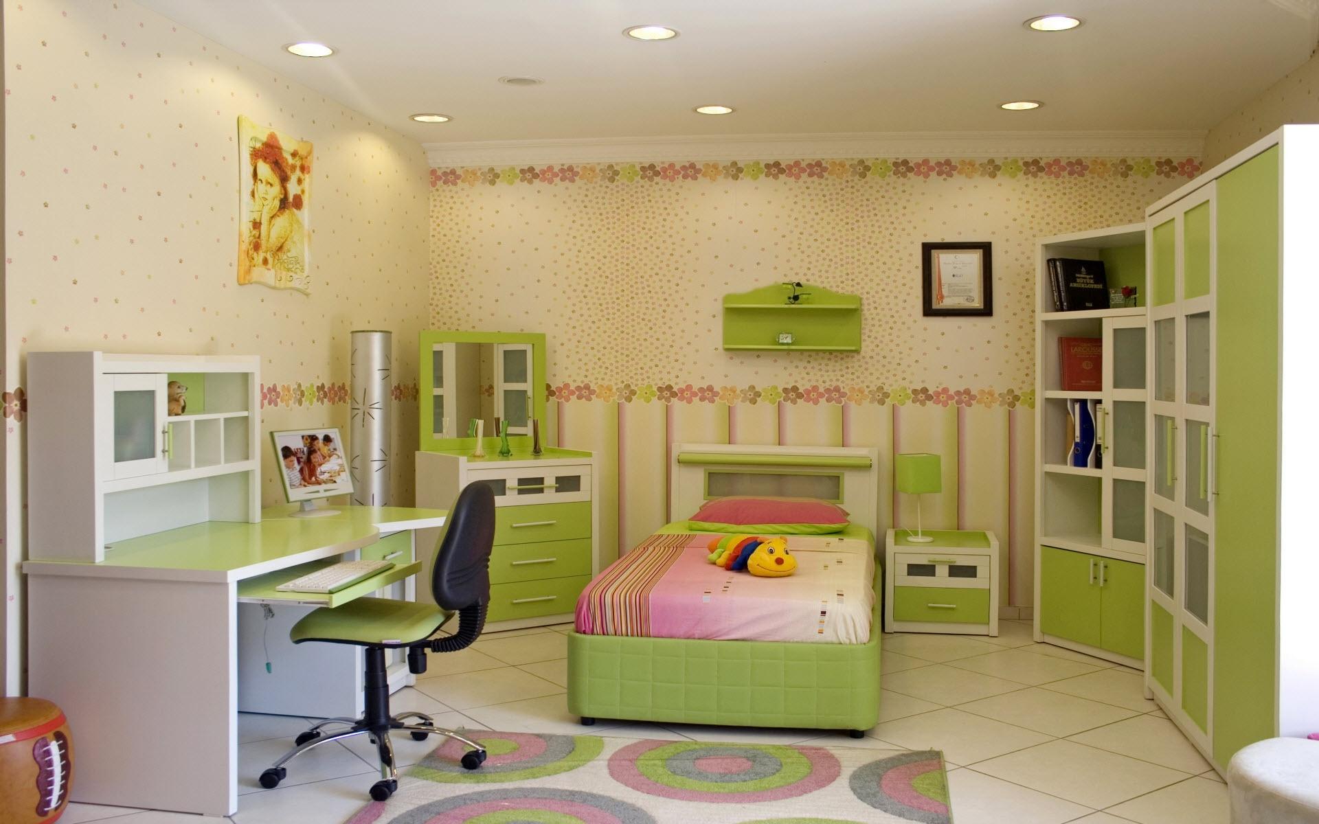 Baggrunde : børn, værelse, interiør, seng, soveværelse, Indretning ...