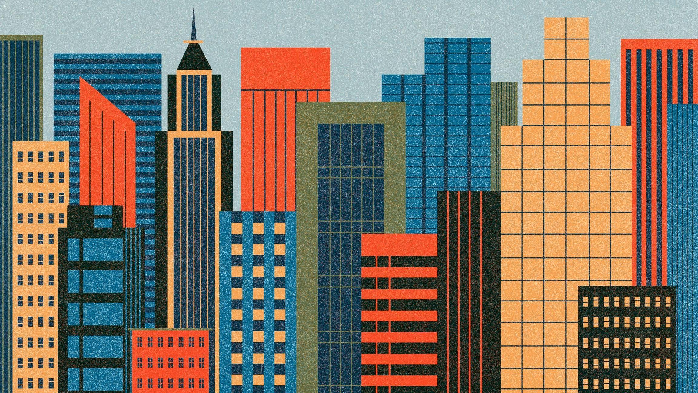 City Abstract Building Skyline Skyscraper Pattern Metropolis Facade Metropolitan Area Tower Block 2304x1296 Px