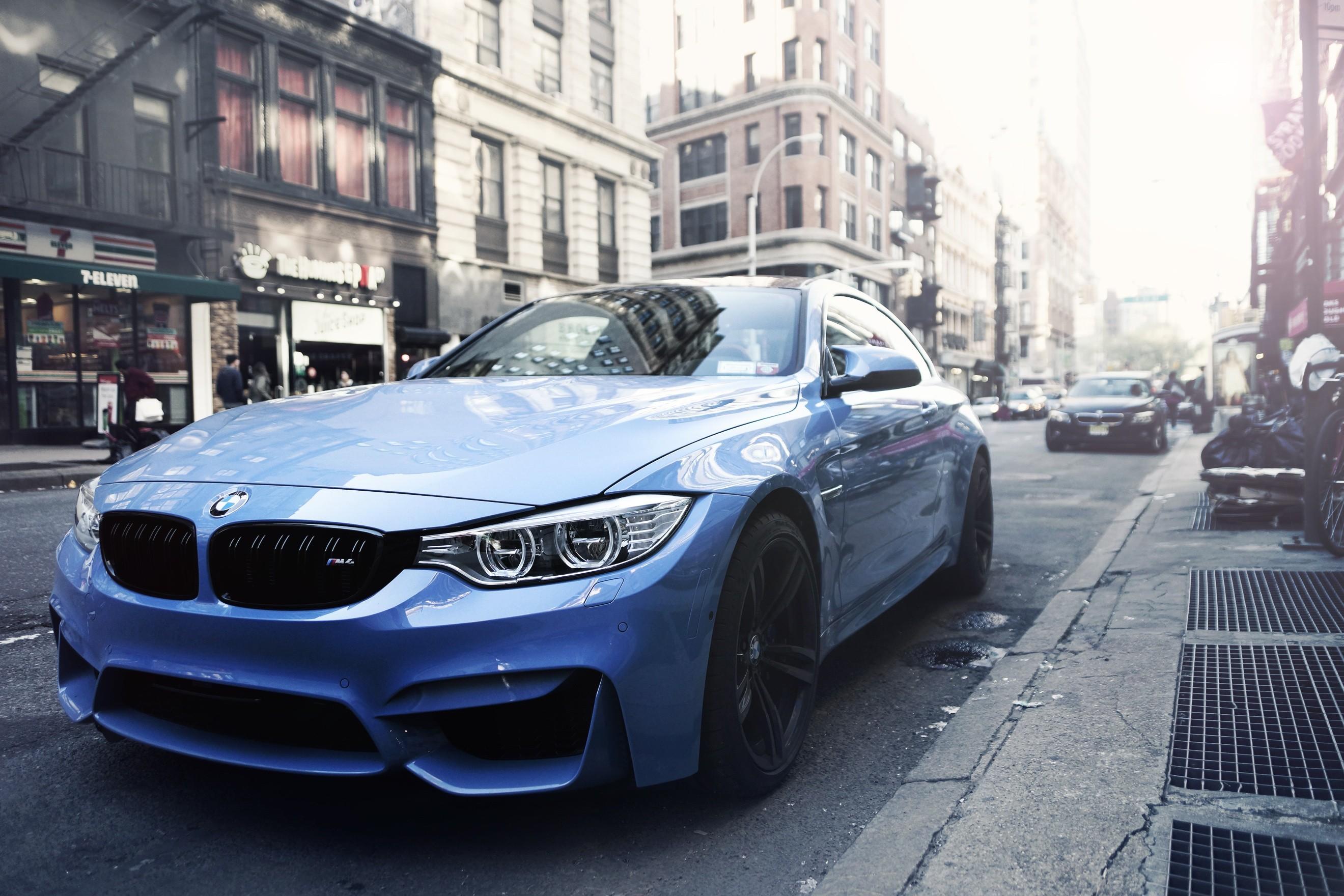 Wallpaper : city, sports car, BMW M3, BMW M4 Coupe, German