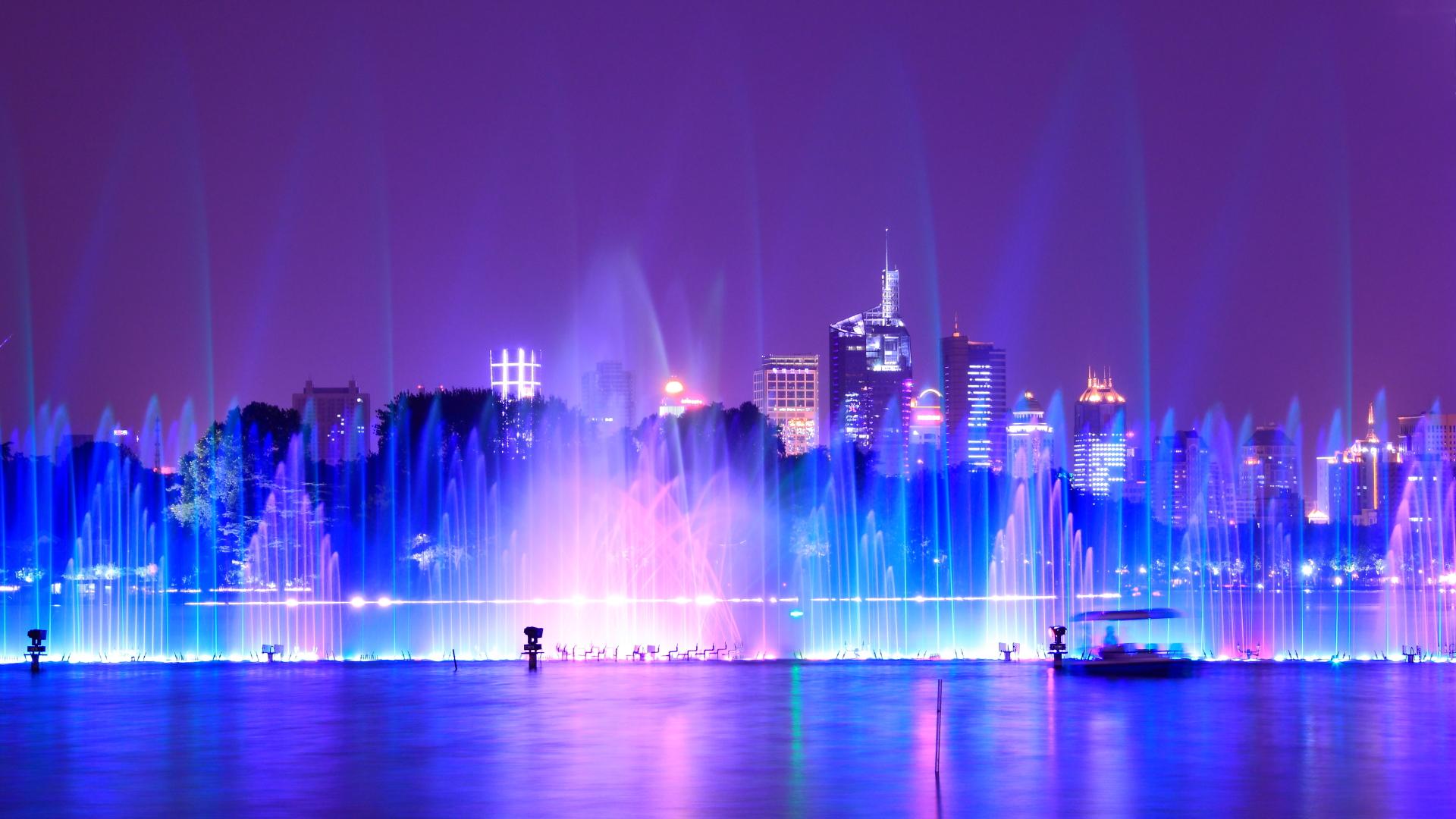 Fondos De Pantalla : Ciudad, Paisaje Urbano, Noche, China