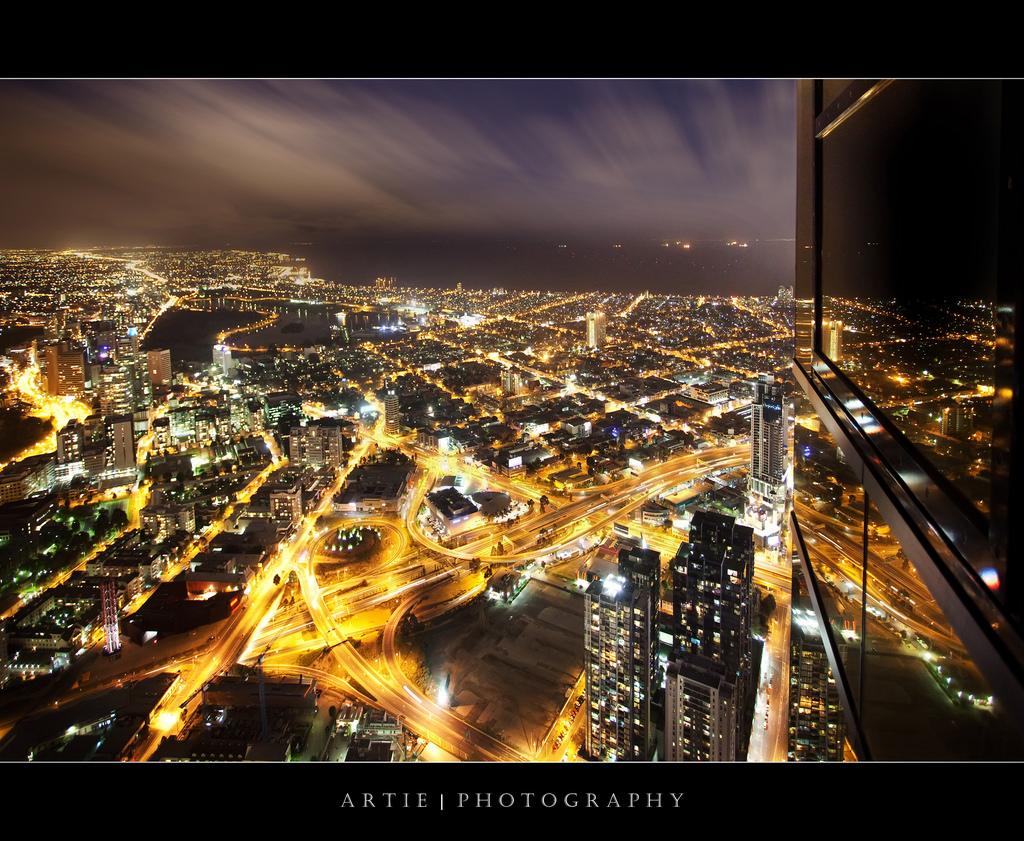 Обои melbourne, downtown, мельбурн, Australia, ночь, австралия. Города foto 19
