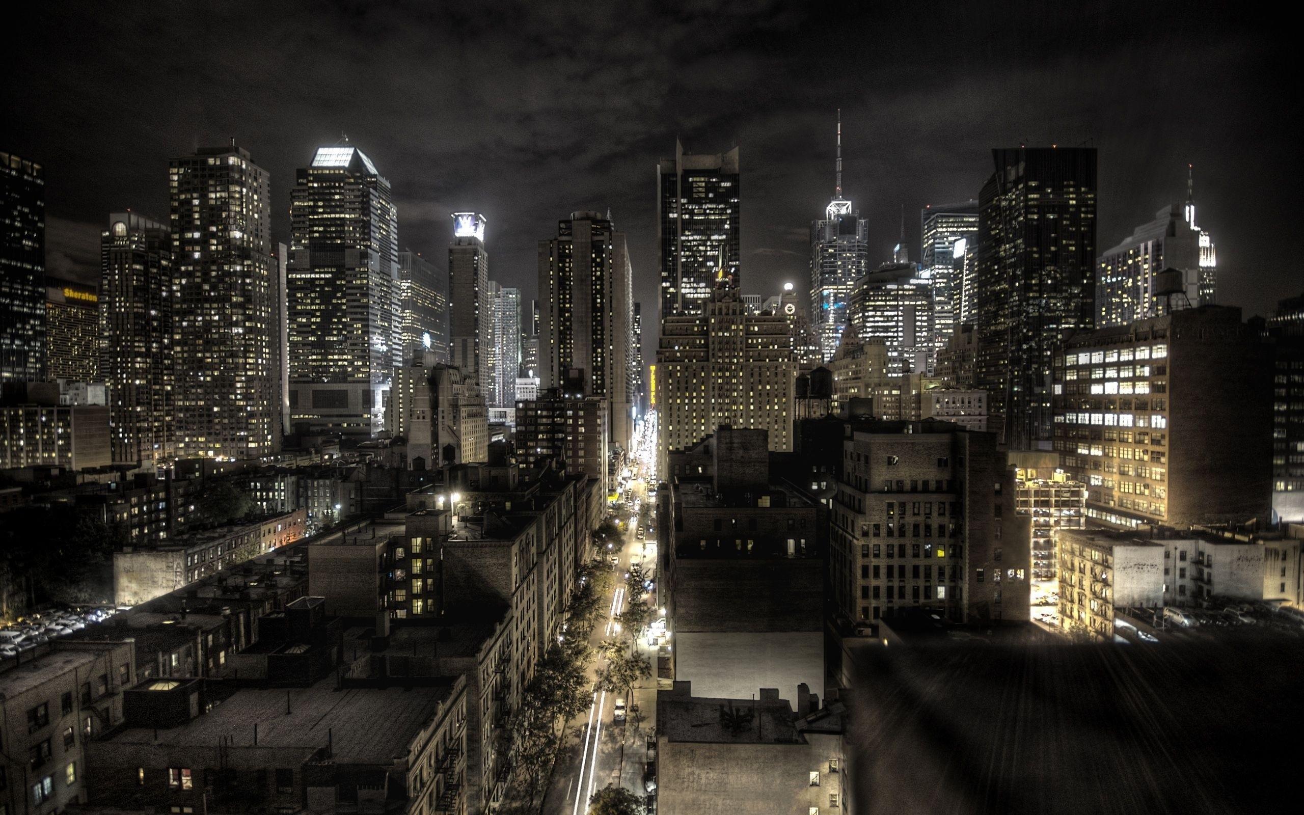 они фотографии ночных мегаполисов могут быть