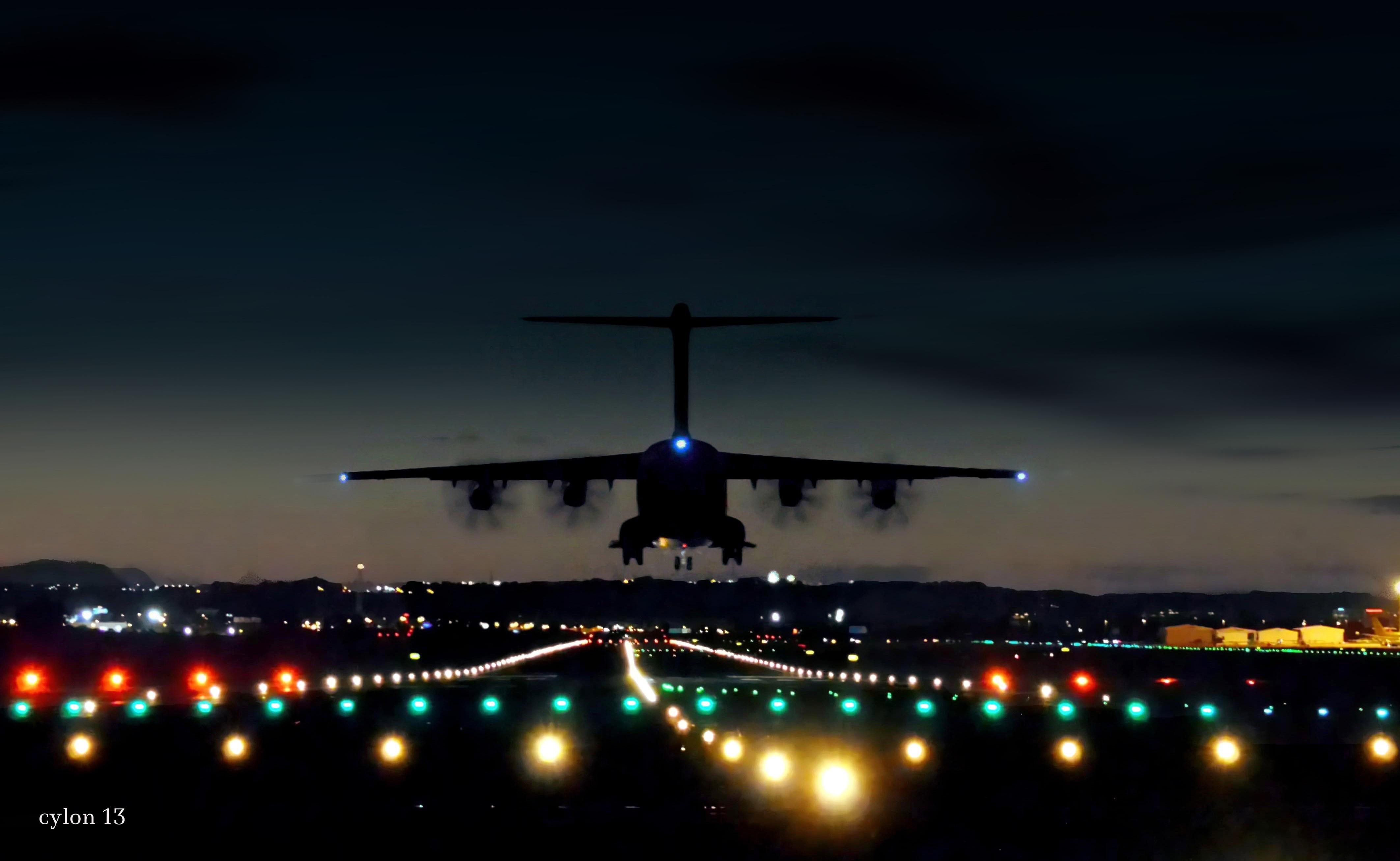 полет в ночном городе картинка можете