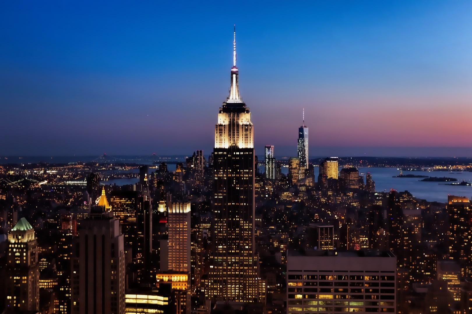 hintergrundbilder stadt licht sonnenuntergang himmel usa new york wasser nacht. Black Bedroom Furniture Sets. Home Design Ideas