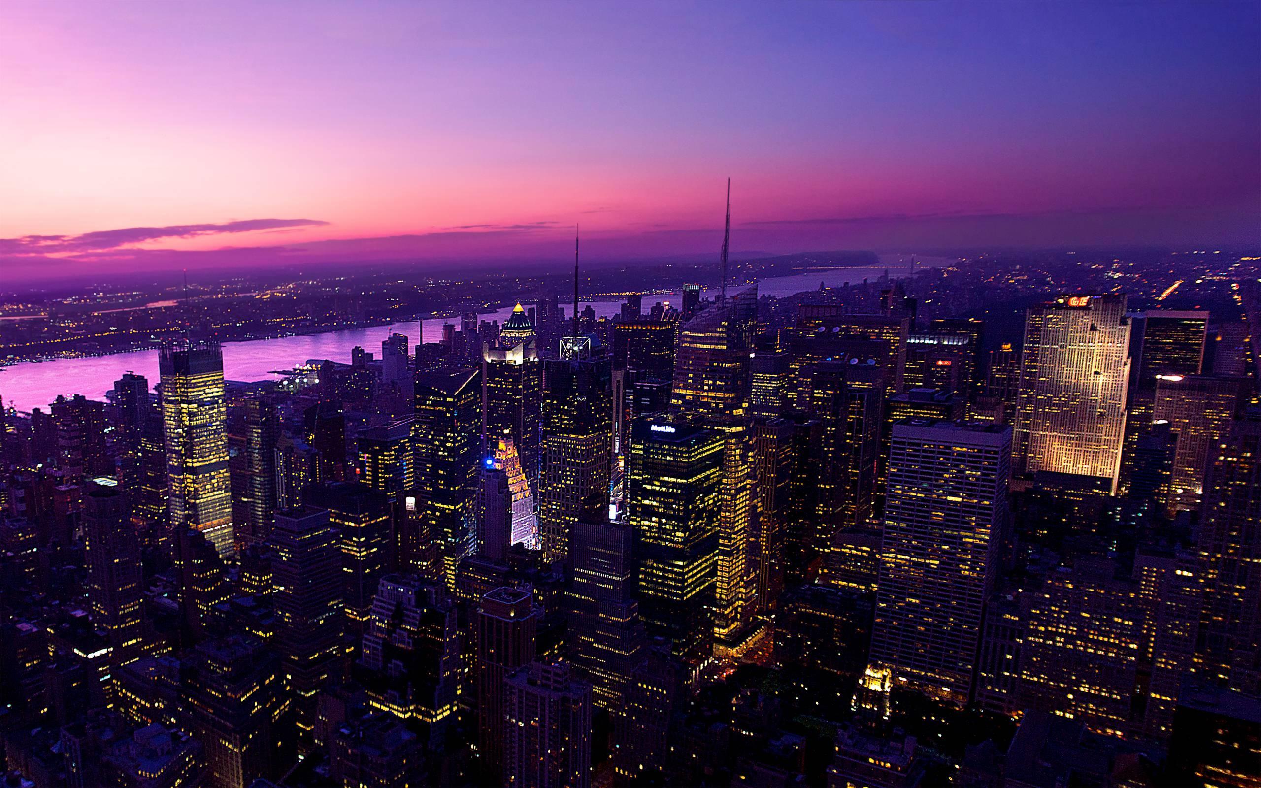 wallpaper : city, night, sunset, light 2560x1600 - mhd ferasalmousa