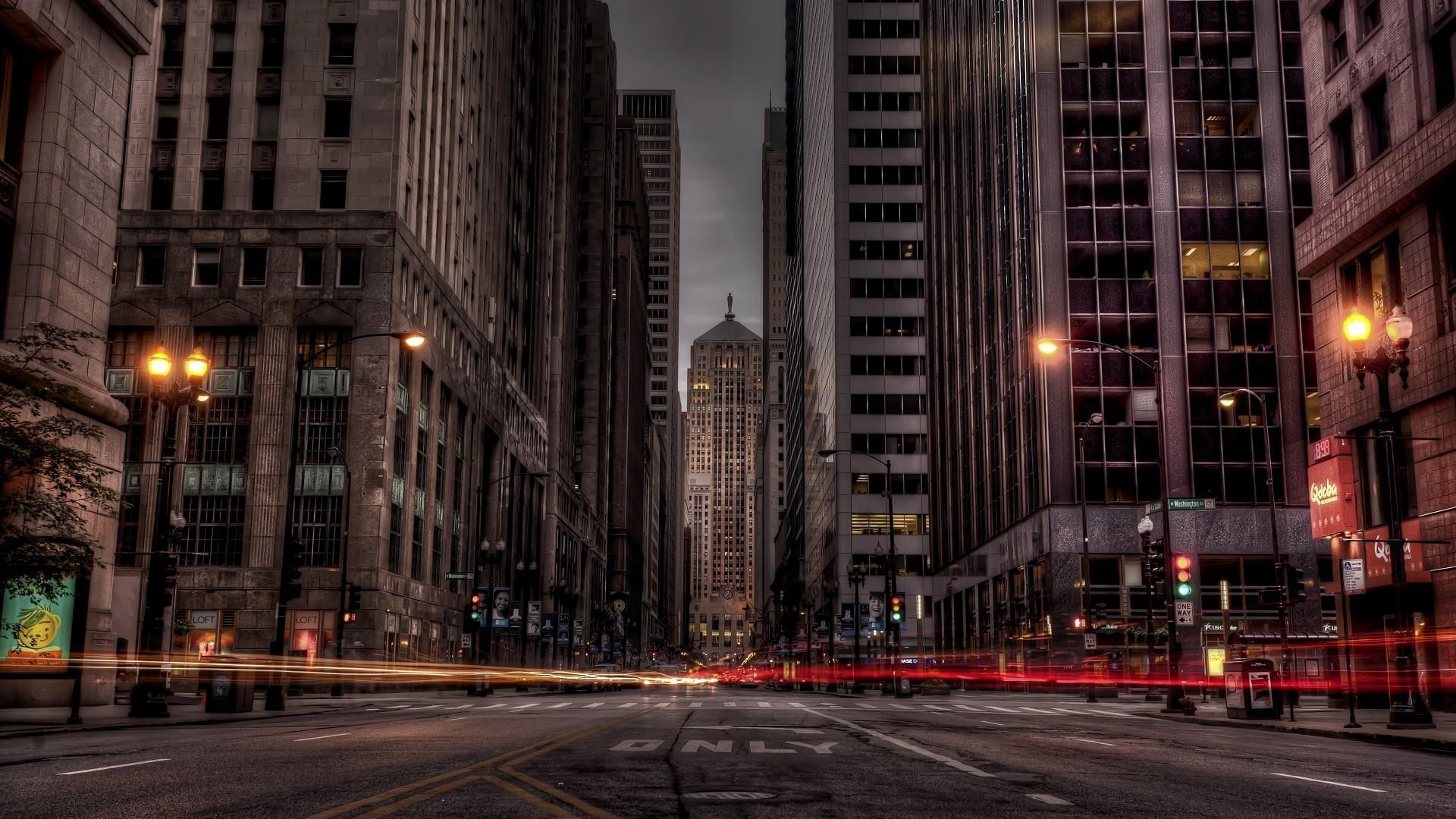 Обои высотки, чикаго, chicago, небоскребы, center. Города foto 16