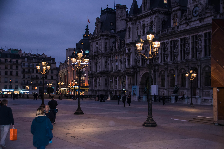 fond d 39 cran rue paysage urbain nuit route soir france paris place de la ville. Black Bedroom Furniture Sets. Home Design Ideas