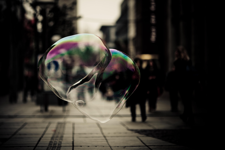 Blasen Welt