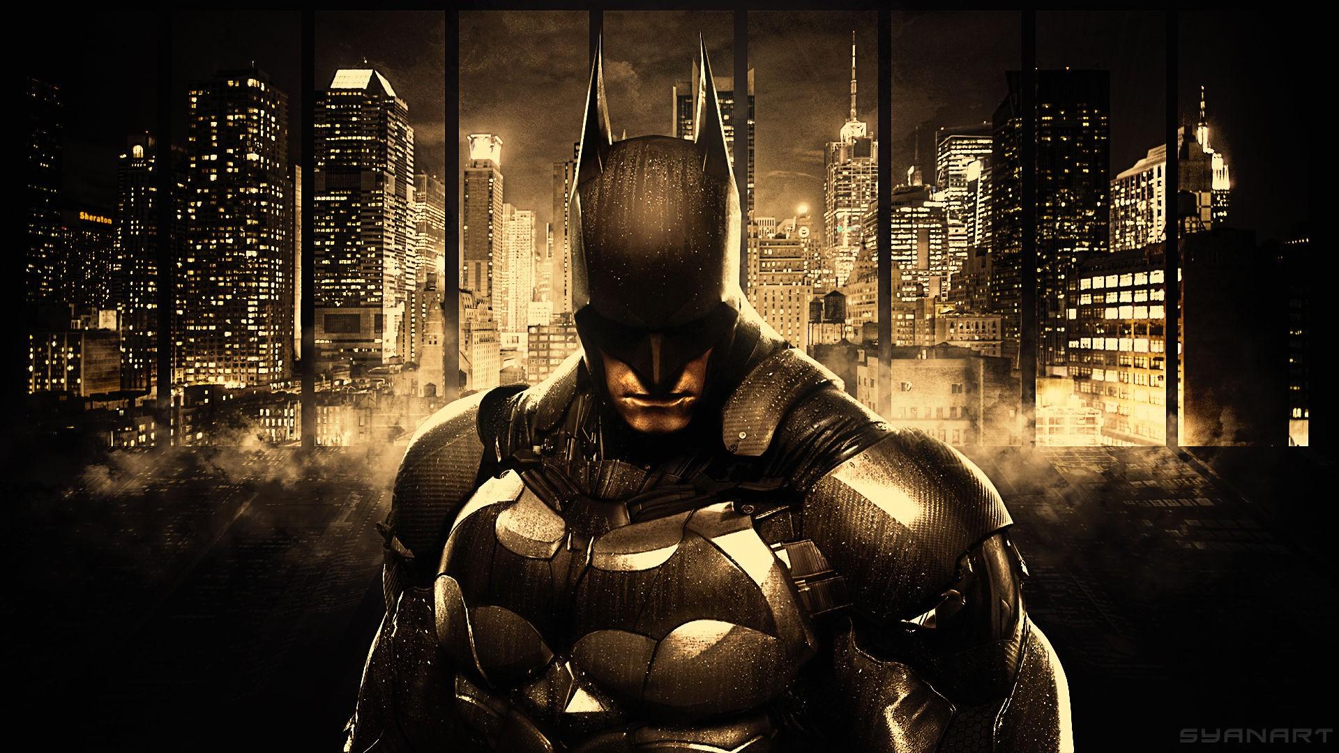 Wallpaper Cityscape Batman Arkham Knight Skyscraper Concept Art