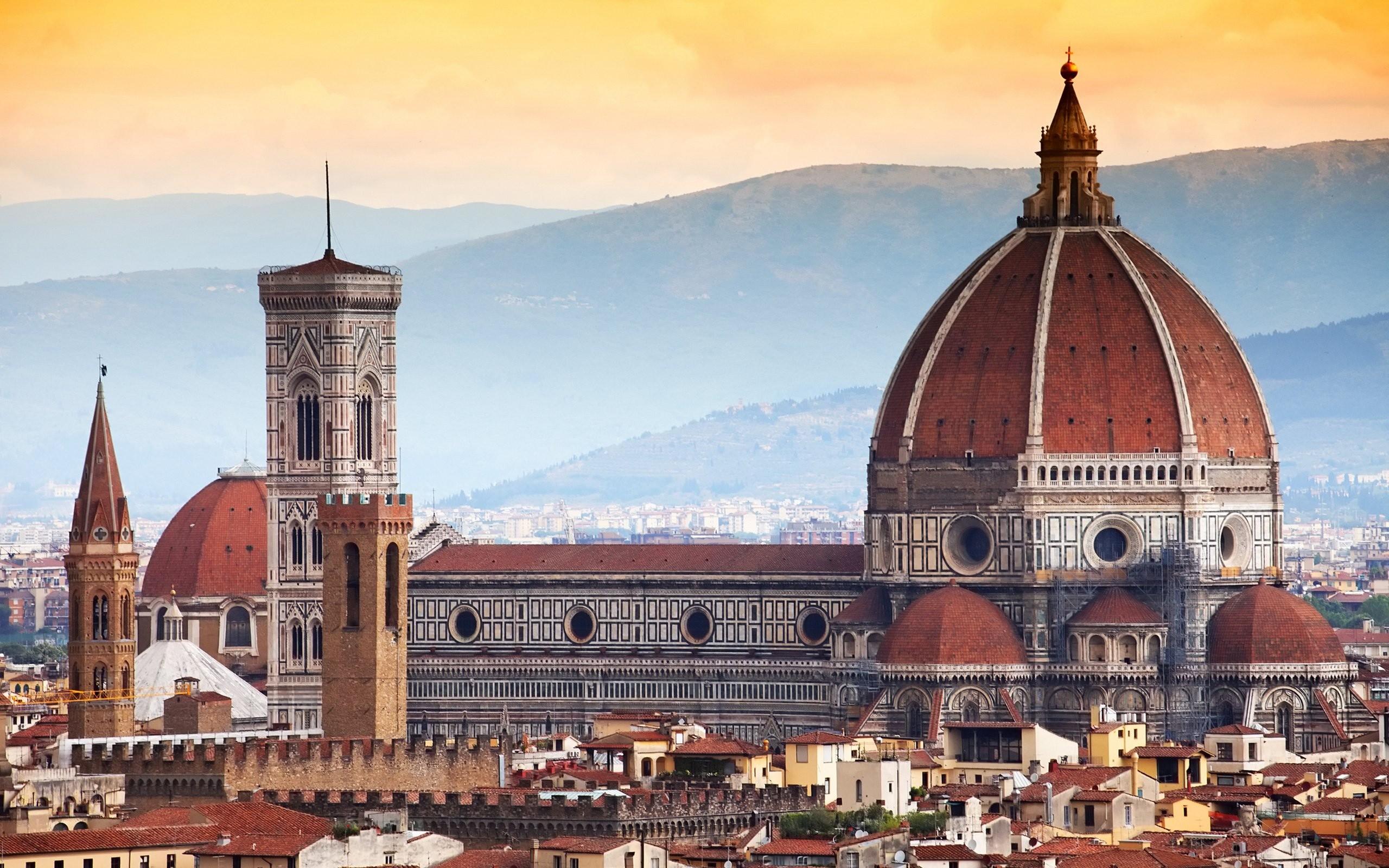 デスクトップ壁紙  都市景観, イタリア, 建物, 観光, タウン
