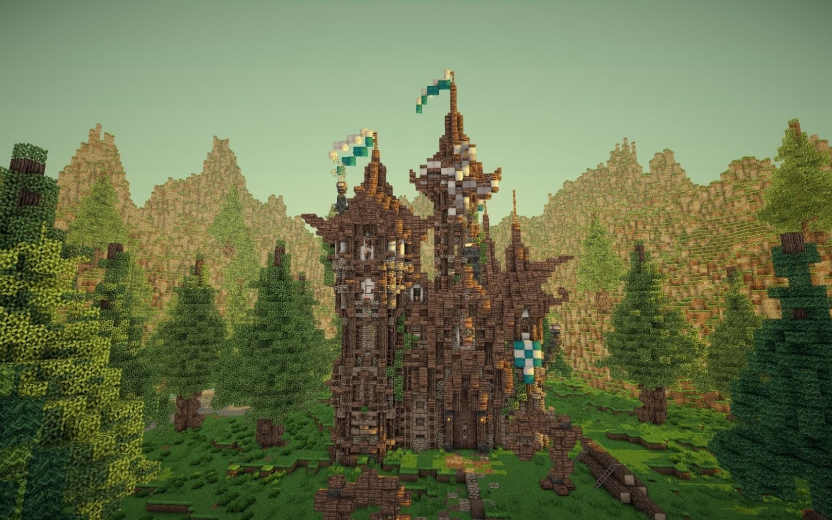 Wonderful Wallpaper Minecraft Autumn - cityscape-Minecraft-castle-chateau-tree-autumn-game-landmark-screenshot-ecosystem-biome-mojang-ab-elements-of-survival-open-world-581097  Pic_29049.jpg
