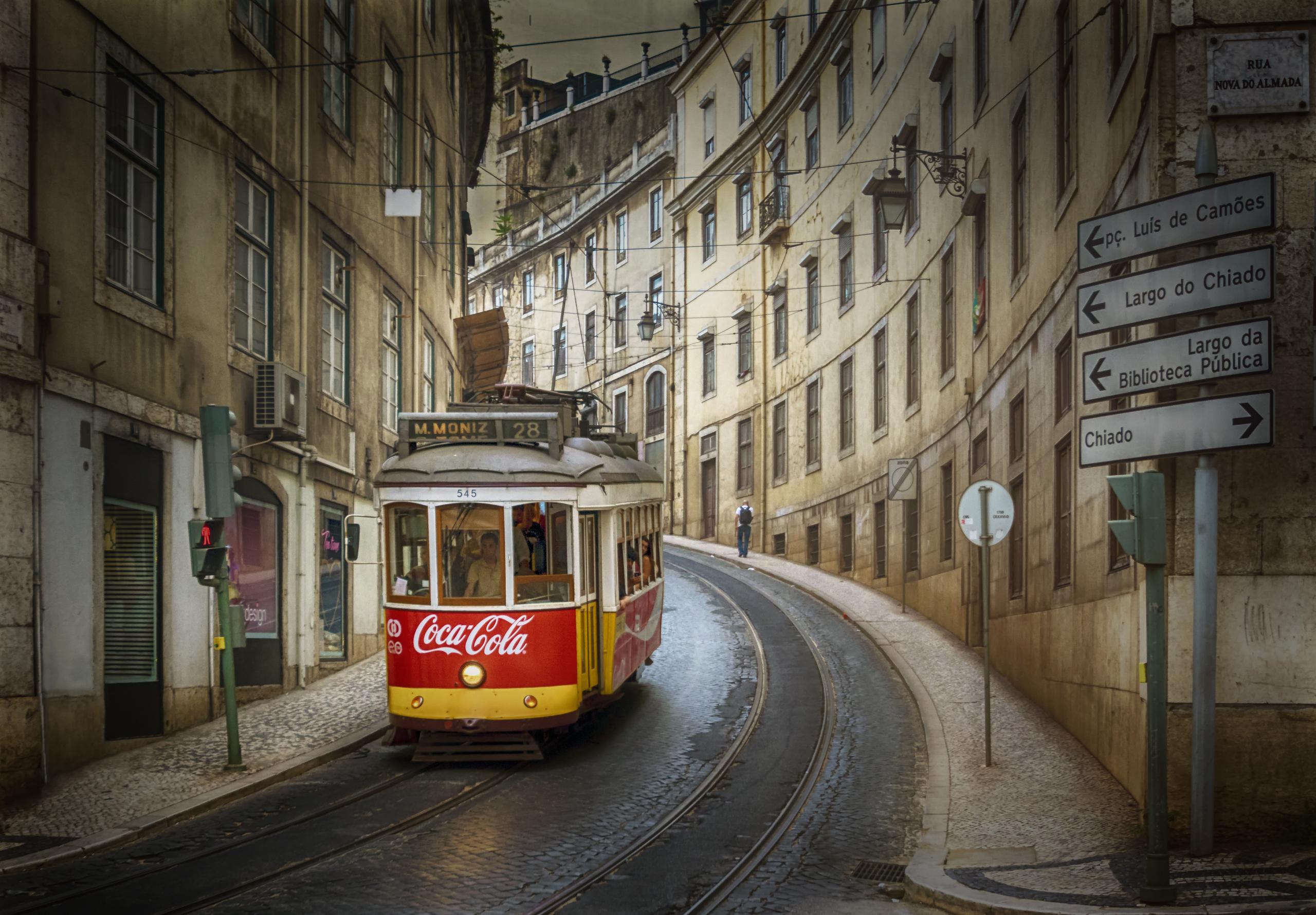 Красивые картинки с трамваем
