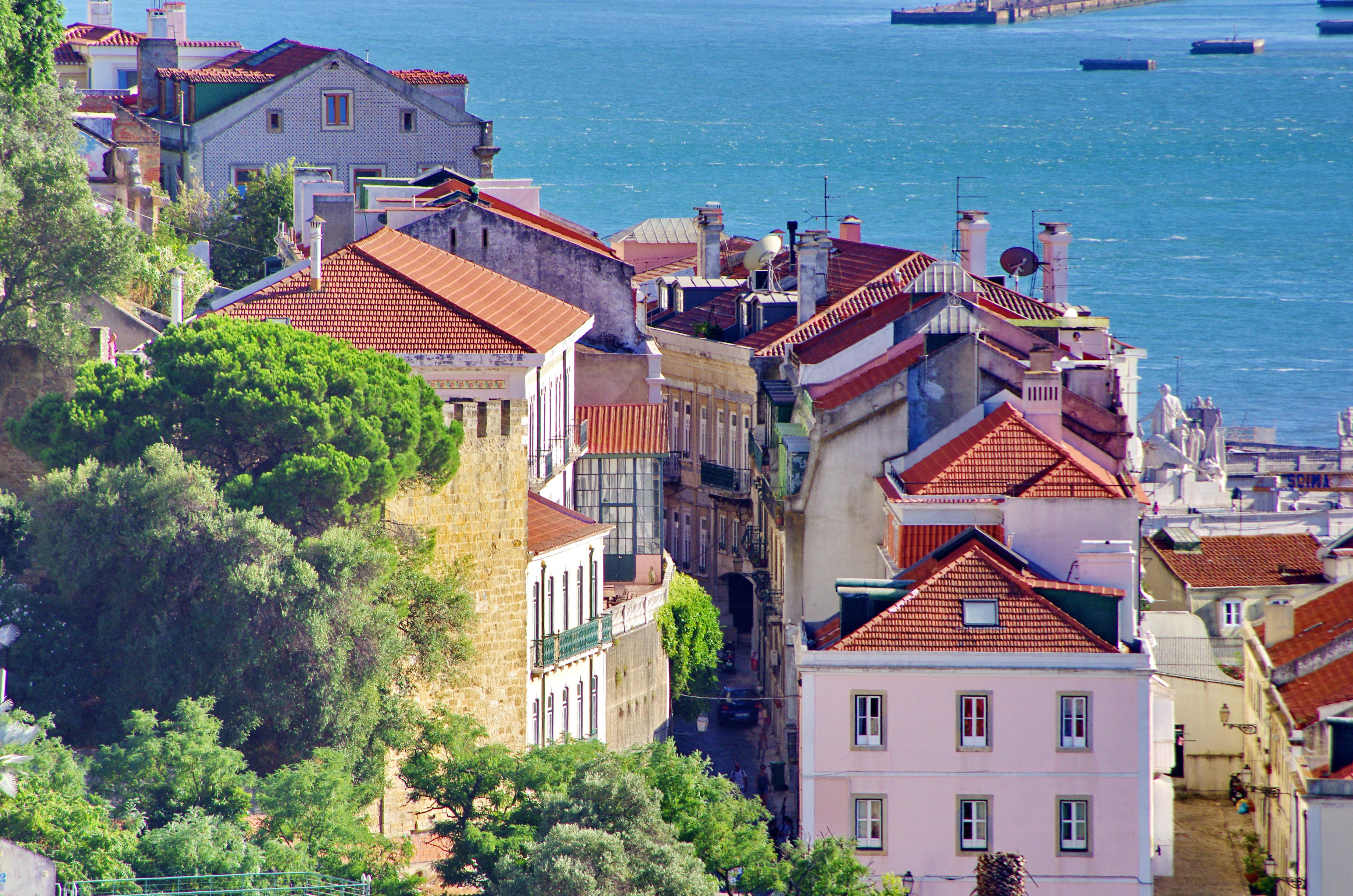 Fond d 39 cran paysage urbain maison tourisme village - La maison monte na comporta au portugal ...
