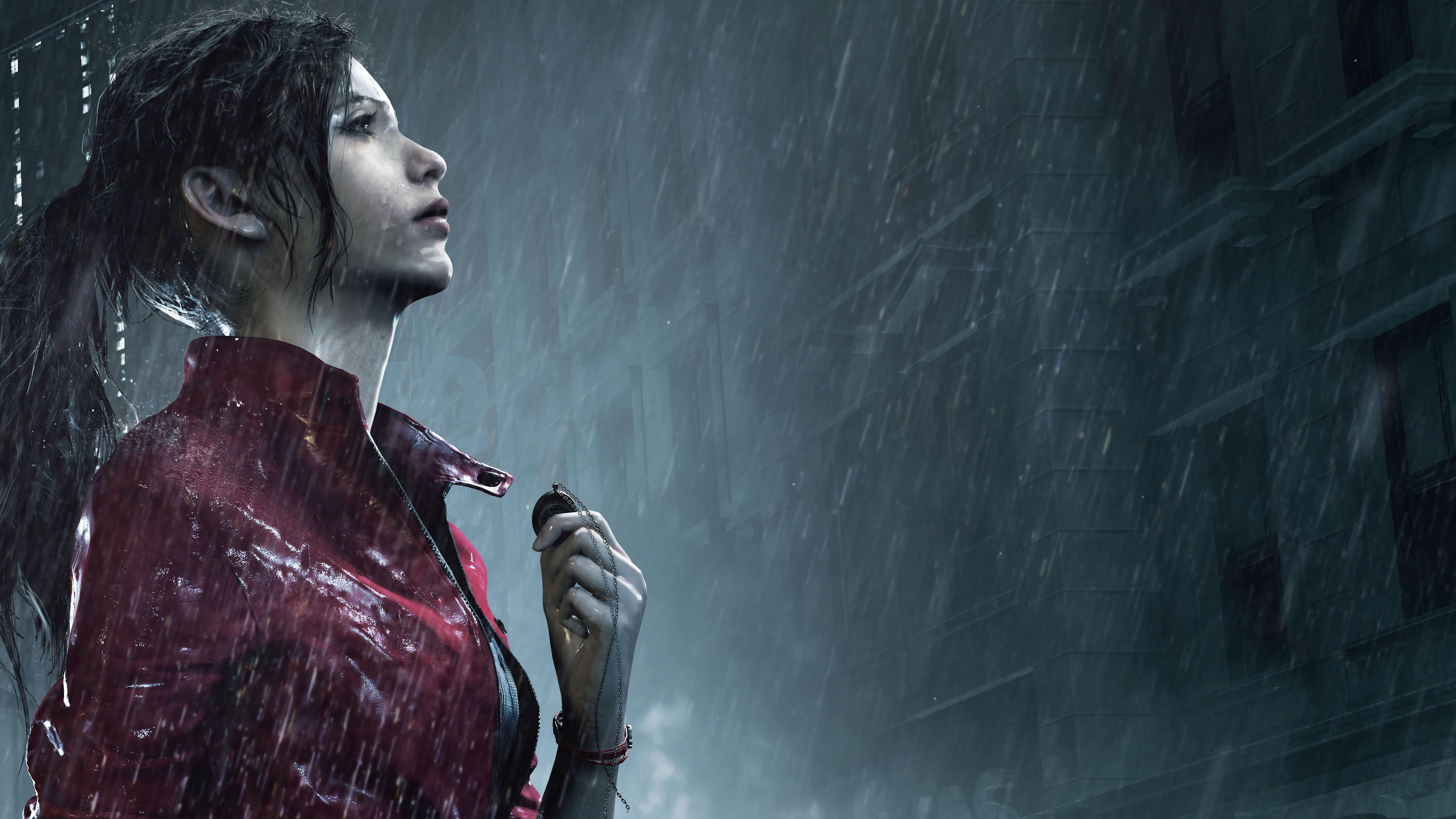 Wallpaper Claire Resident Evil 2 Remake 7680x4320 Santiagox