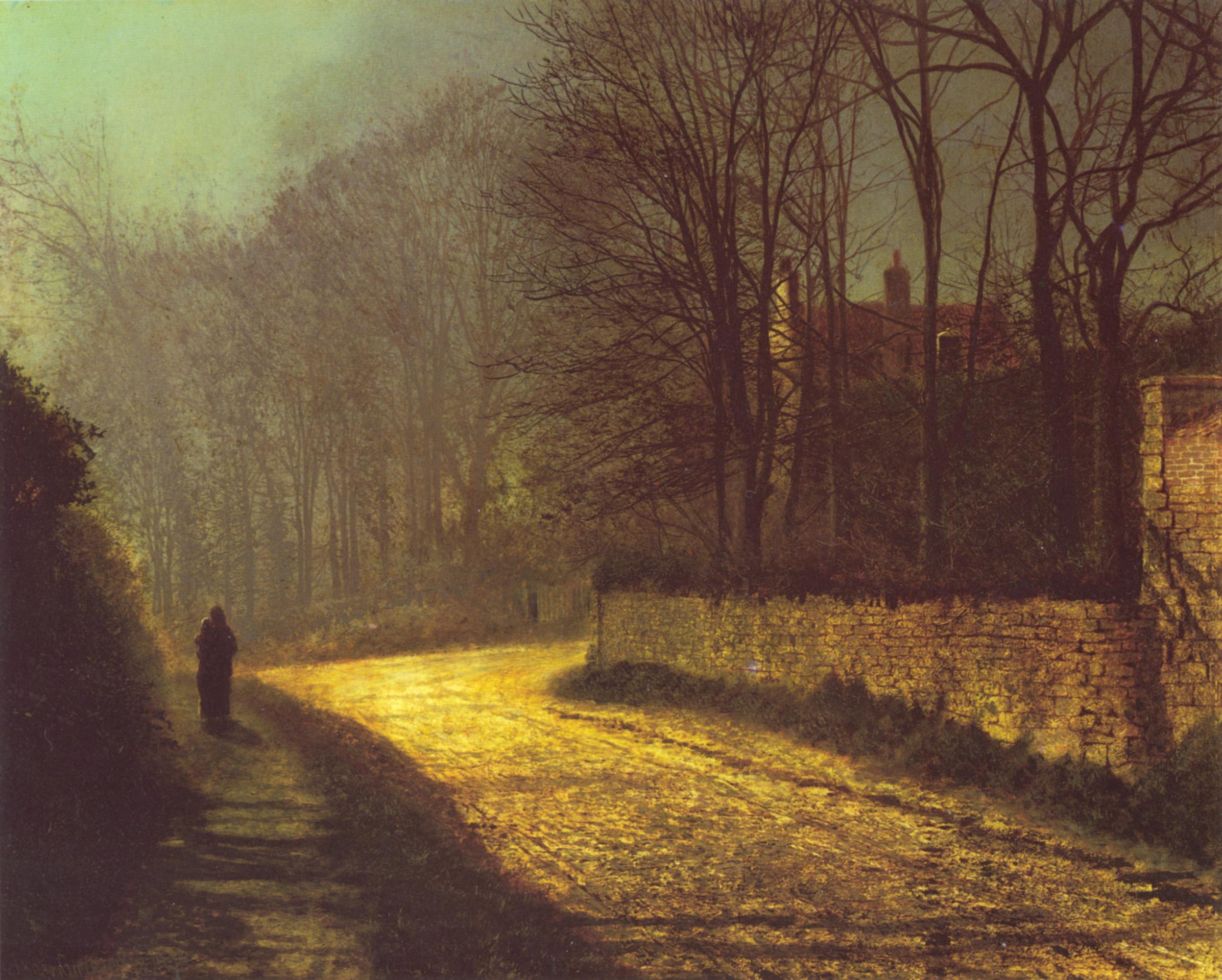 Wallpaper Classic Art Classical Art John Atkinson Grimshaw The