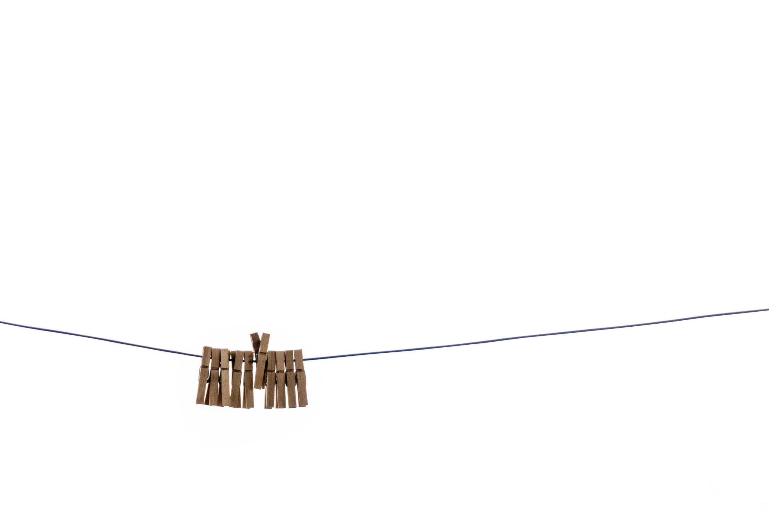 Wallpaper : clothespins, white, minimalism 2560x1707 ...