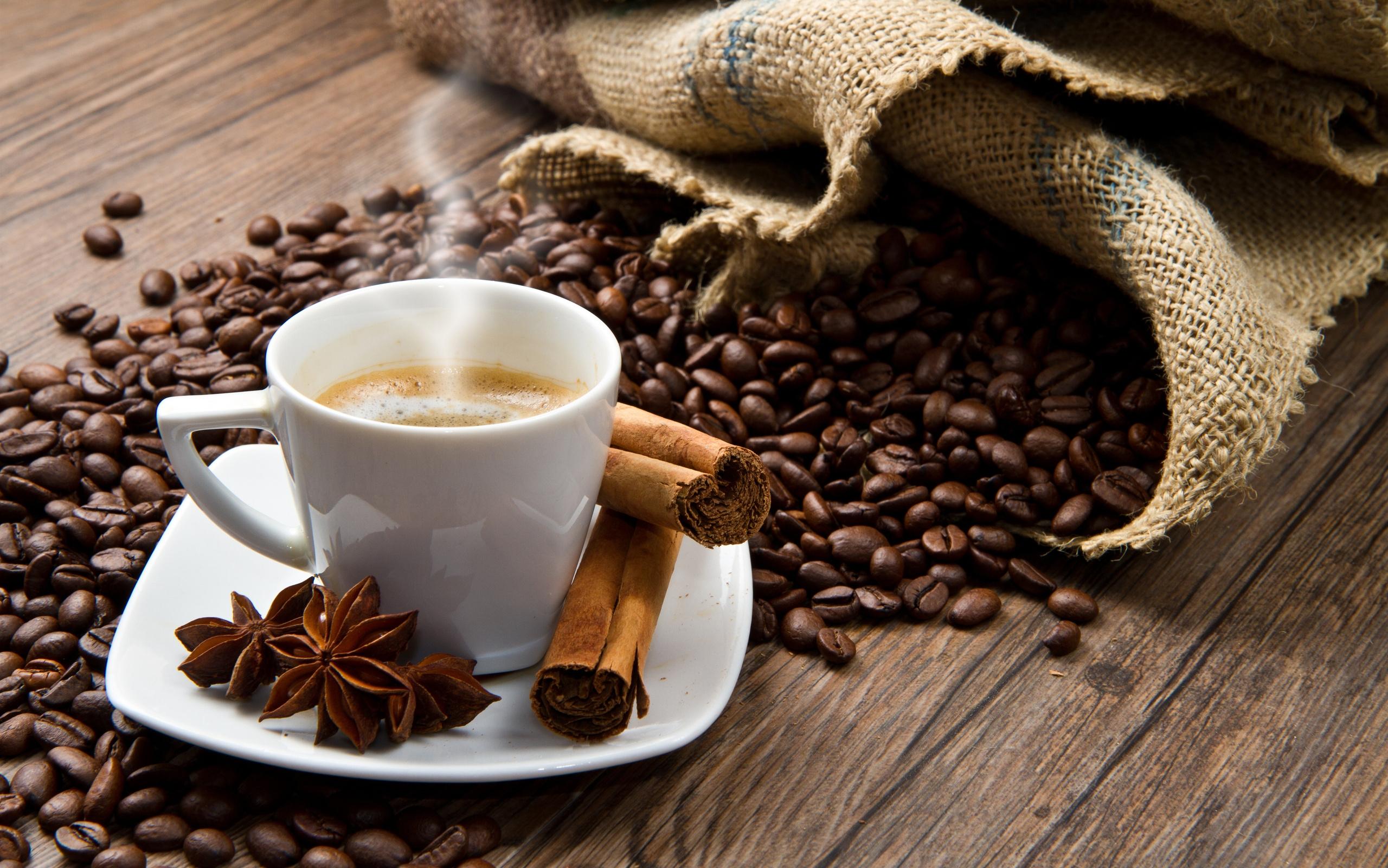 Hintergrundbilder : Kaffee, Getränk, Tasse, Kaffeebohnen, Zimt ...