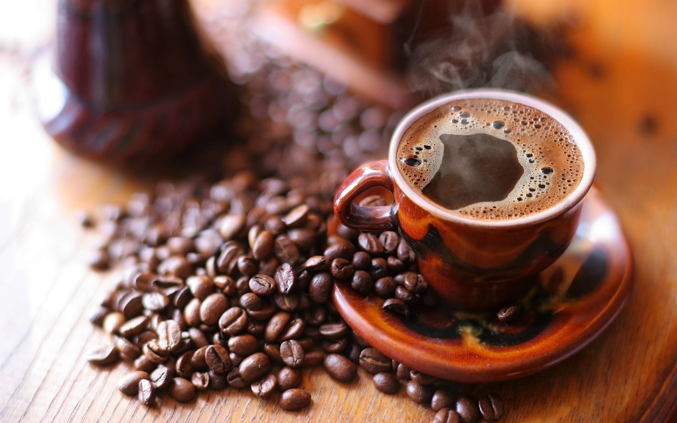 Hintergrundbilder : Getränk, Tasse, Kaffeebohnen, Espresso ...