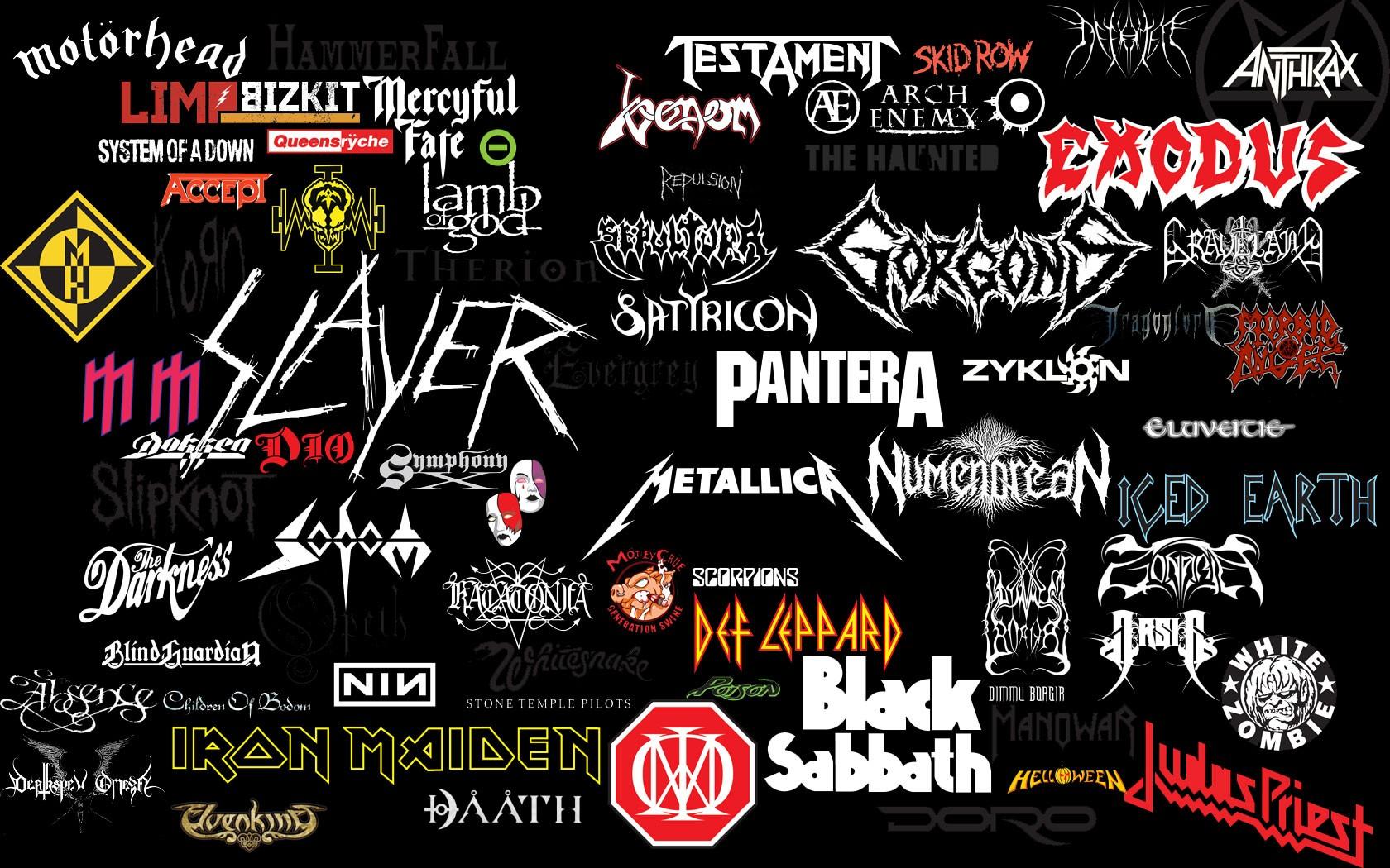 хеви метал рисунки