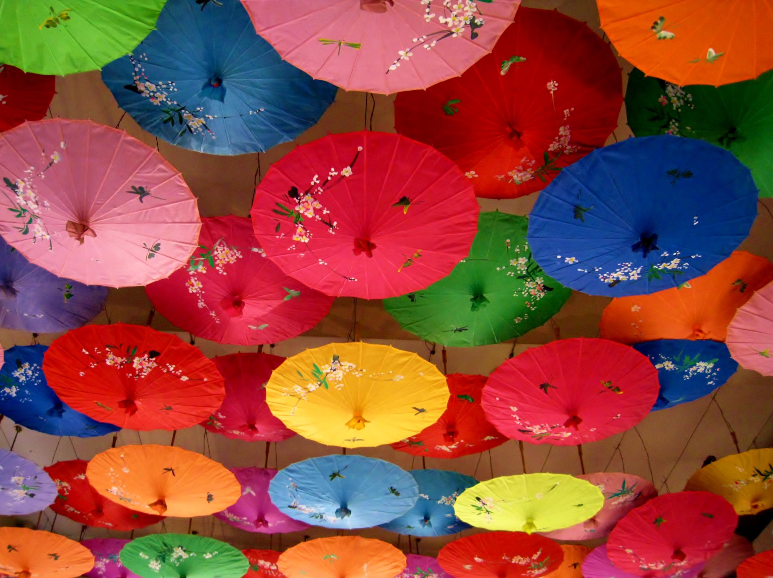 Wallpaper Color Colour Colors Umbrella Catchycolors