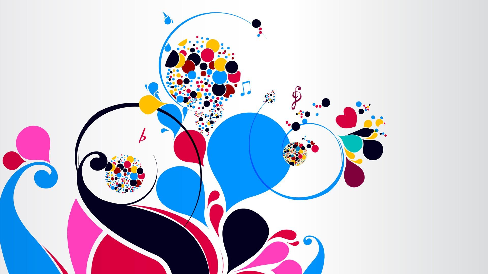 Popular Wallpaper Music Bright - colorful-illustration-cartoon-circle-bright-brand-notes-treble-clef-ART-patterns-font-organ-586780  Gallery_483479.jpg