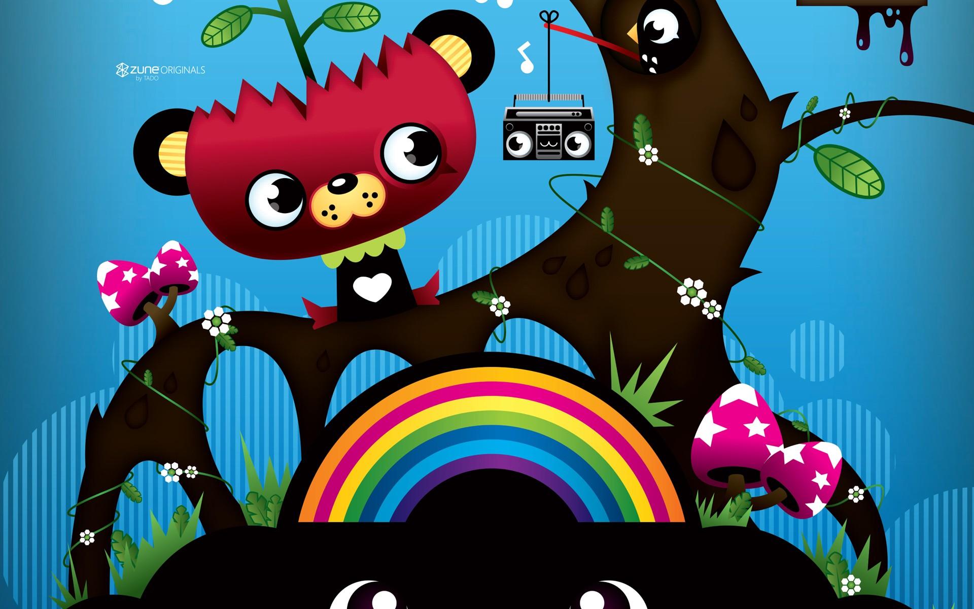 wallpaper colorful illustration digital art fantasy art