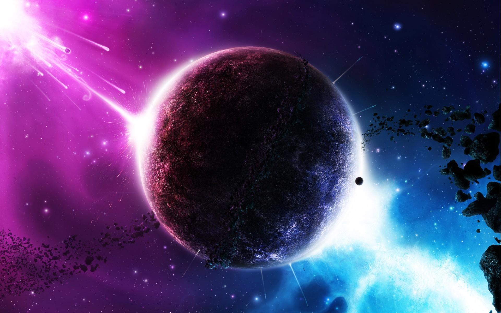том, картинки разноцветных планет данным