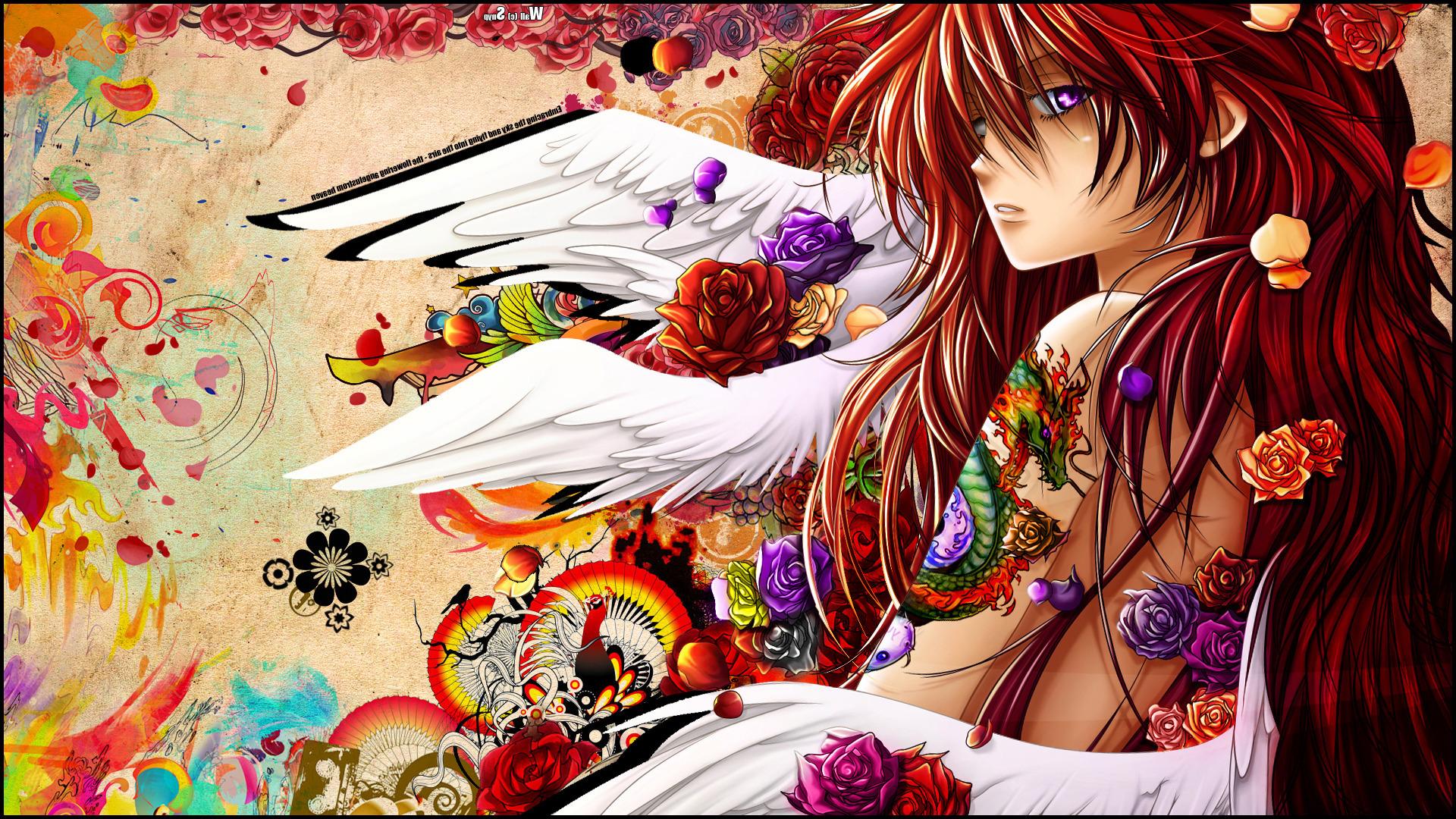 colorful-illustration-digital-art-redhead-flowers-anime-anime-girls-wings-angel-artwork-tattoo-original-characters-rose-purple-eyes-Snyp-ART-flower-girl-graphics-1920x1080-px-computer-wallpaper-fictional-character-mangaka-comics-artist-fiction-cg-artwork-798906.jpg