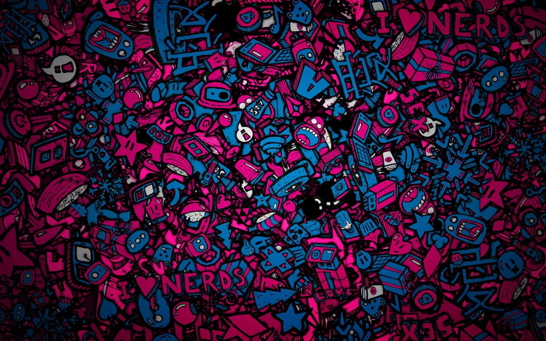 Wallpaper Colorful Illustration Digital Art Symmetry