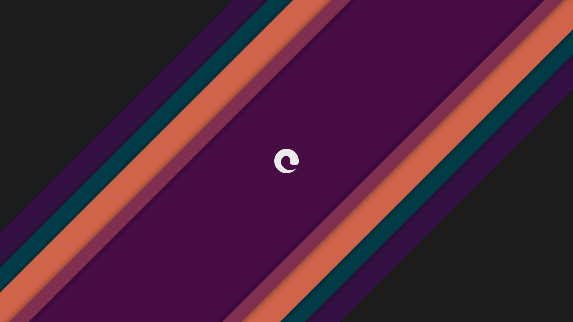Wallpaper : colorful, neon, minimalism, purple, logo, blue, triangle